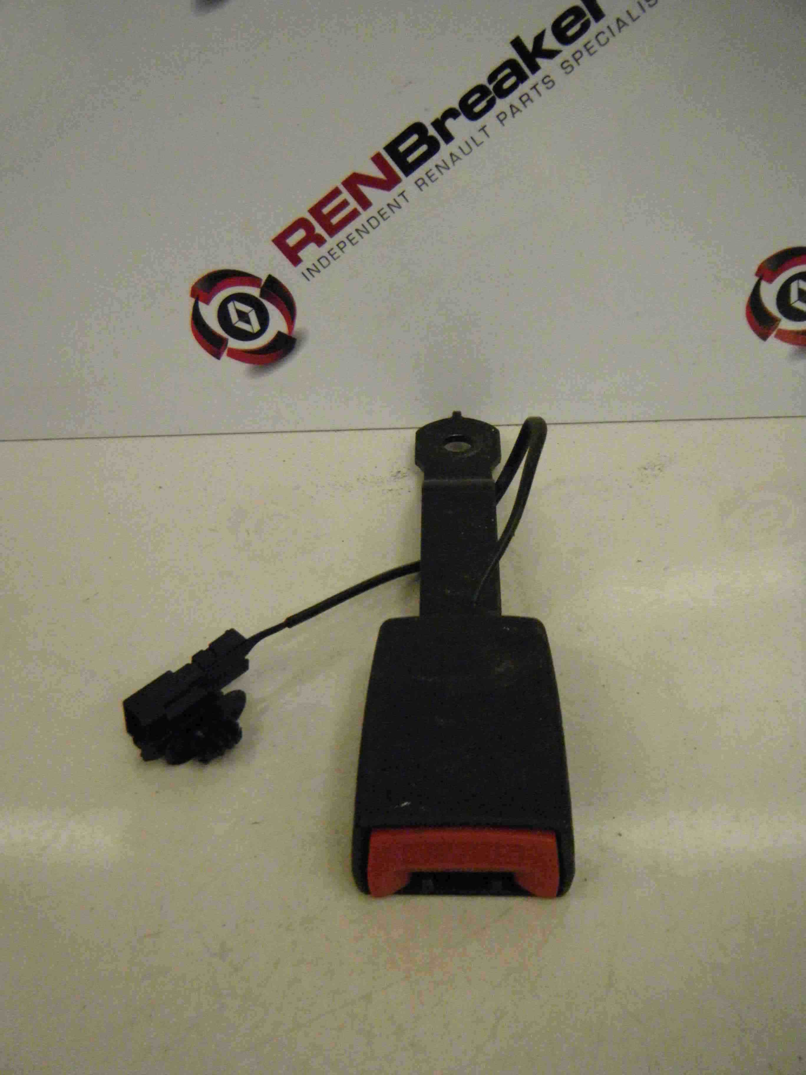 Renault Clio MK3 2005-2012 Drivers OSF Front Seat Belt Buckle Anchor 33C3966C