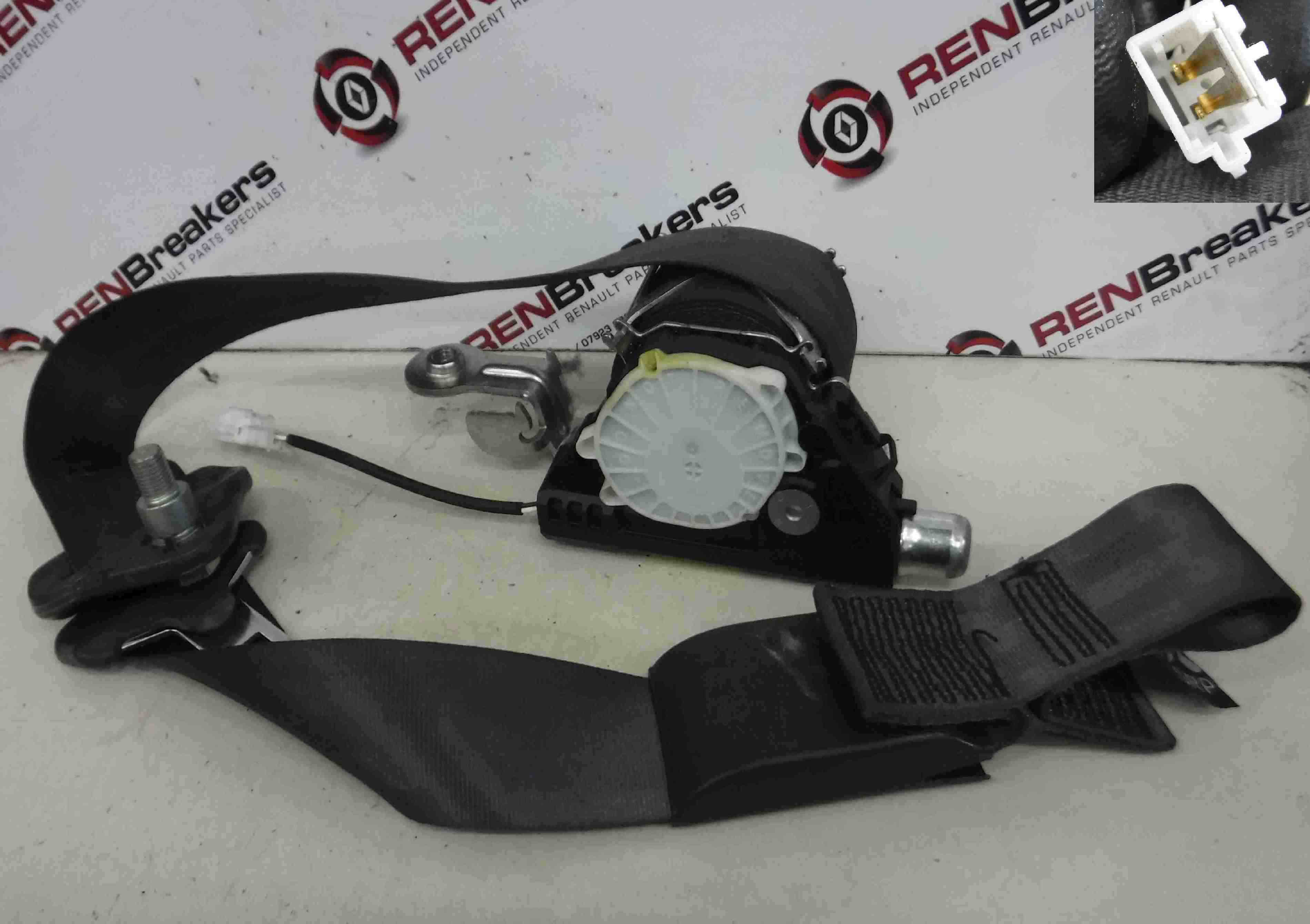 Renault Clio MK3 2005-2009 Drivers OSF Front Seatbelt 5DR