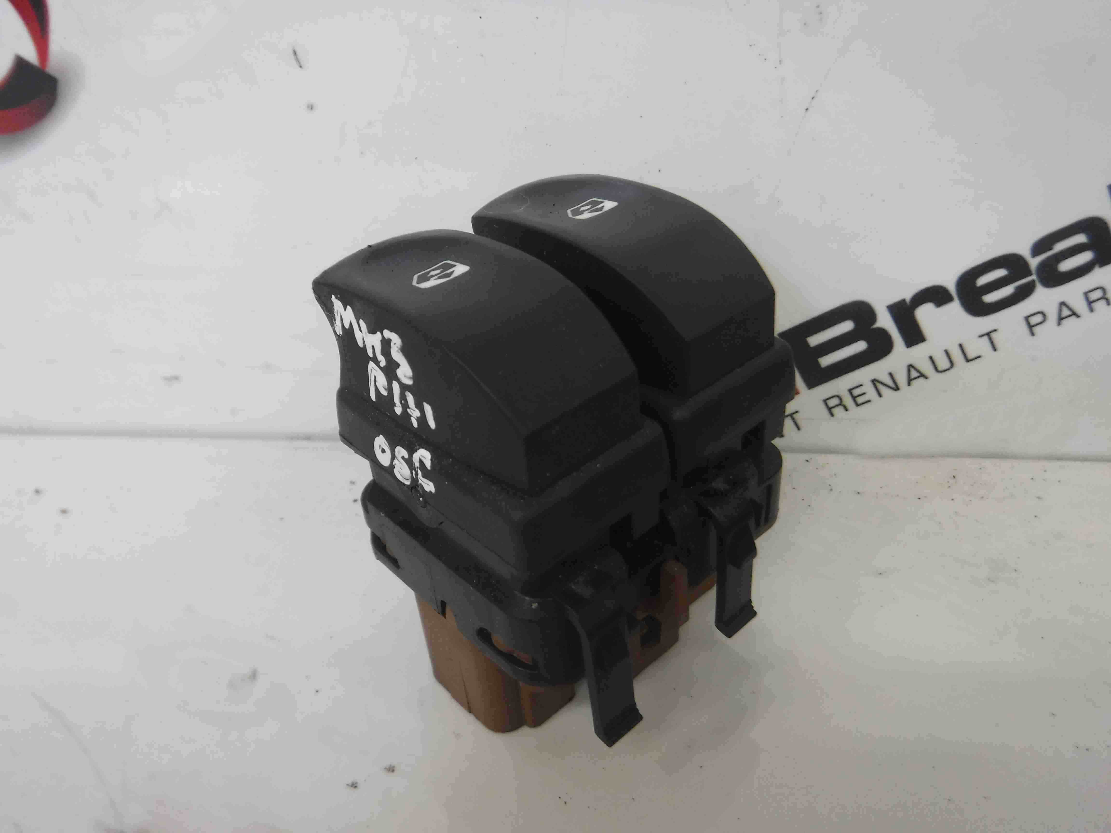 Renault Clio MK3 2005-2009 Drivers OSF Front Window Switch Brown Plug Rear