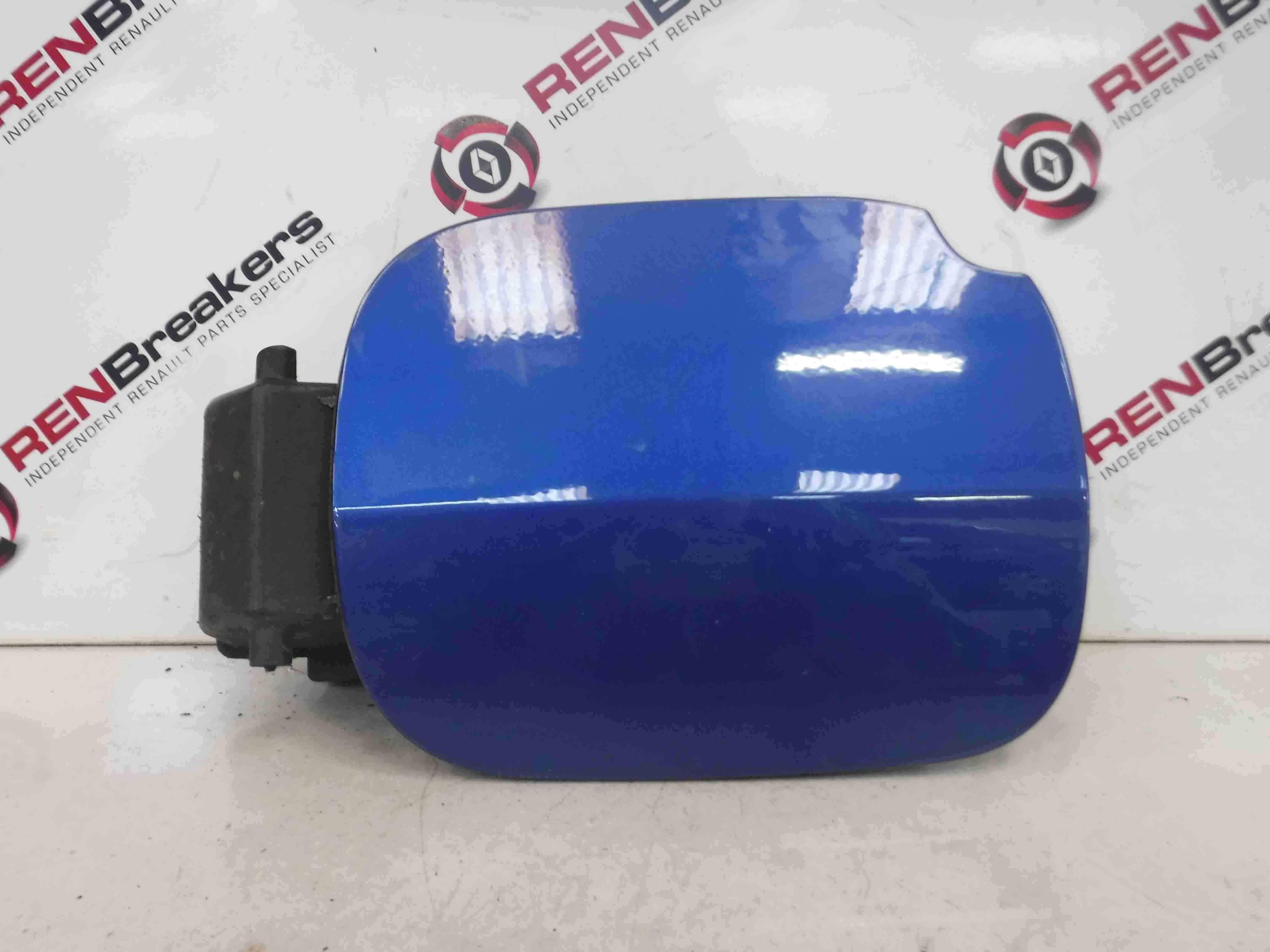 Renault Clio MK3 2005-2009 Fuel Flap Cover + Hinge Blue TERNA  8200290088