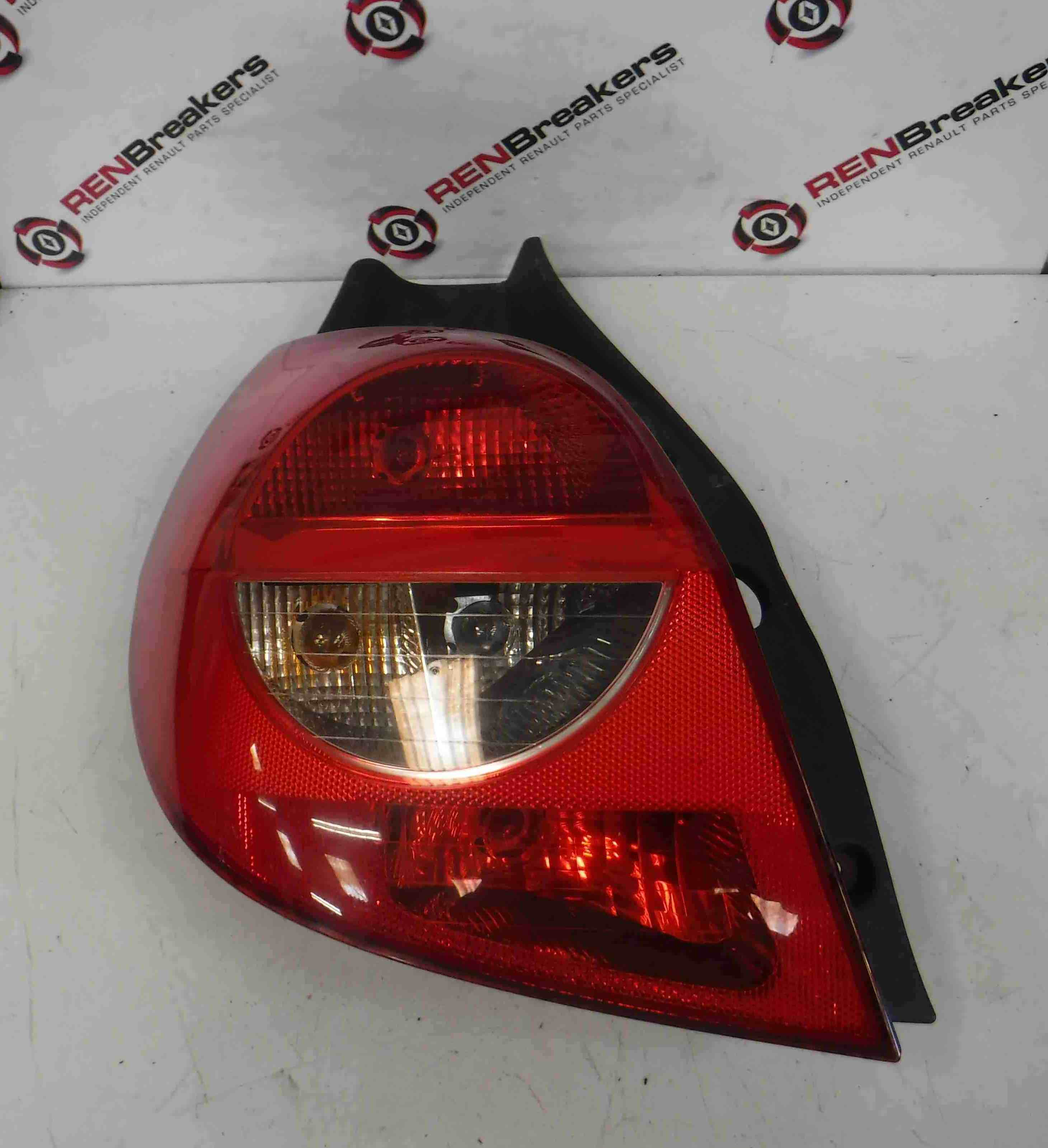 Renault Clio MK3 2005-2009 Passenger NSR Rear Light Tail light