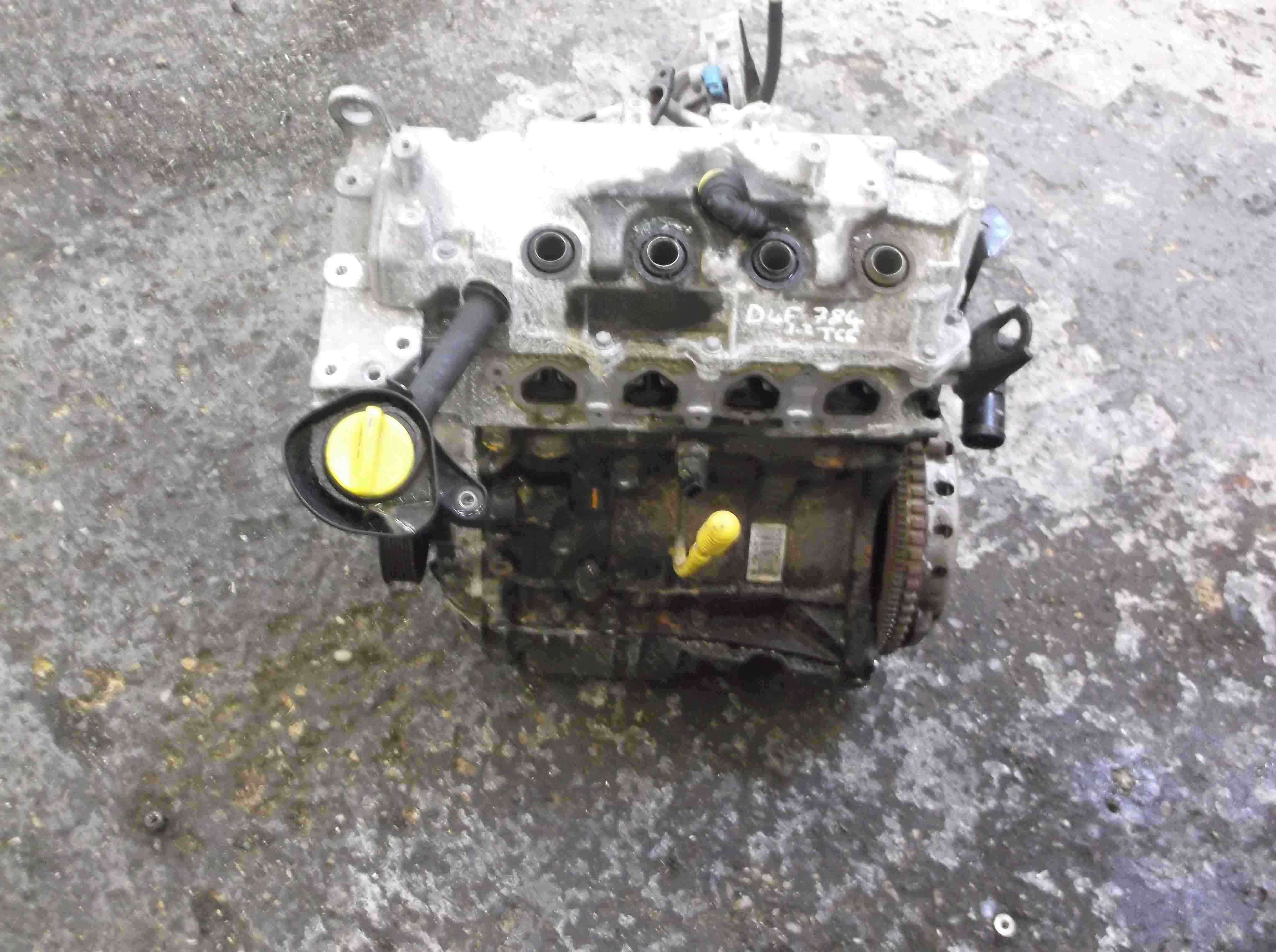 Renault Clio MK3 2005-2012 1.2 TCE Turbo Engine D4F 784 D4F784