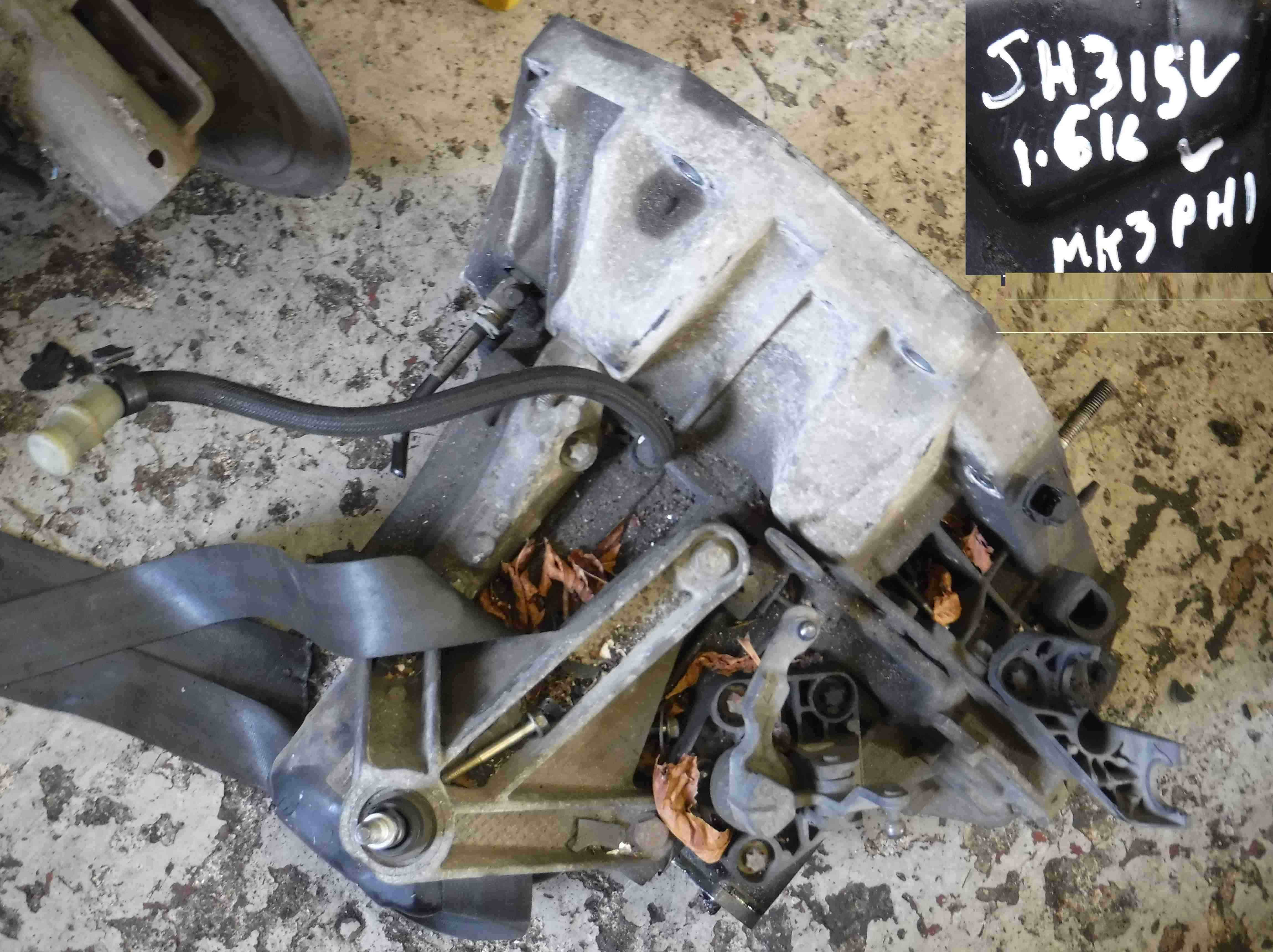 Renault Clio MK3 2005-2012 1.6 16v Gearbox JH3 155 jh3155
