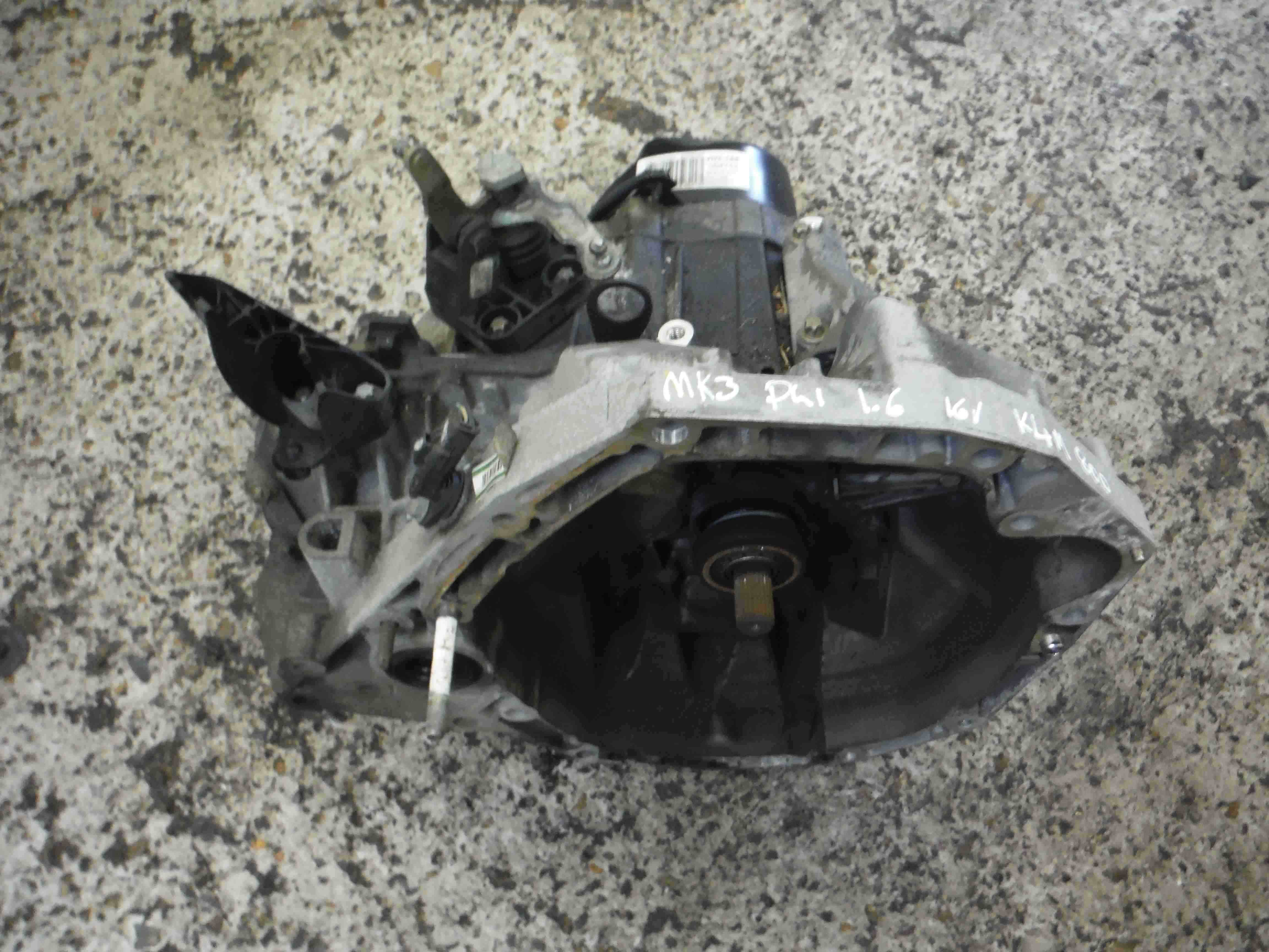 Renault Clio MK3 2005-2012 1.6 16v Gearbox JH3 147 JH3147
