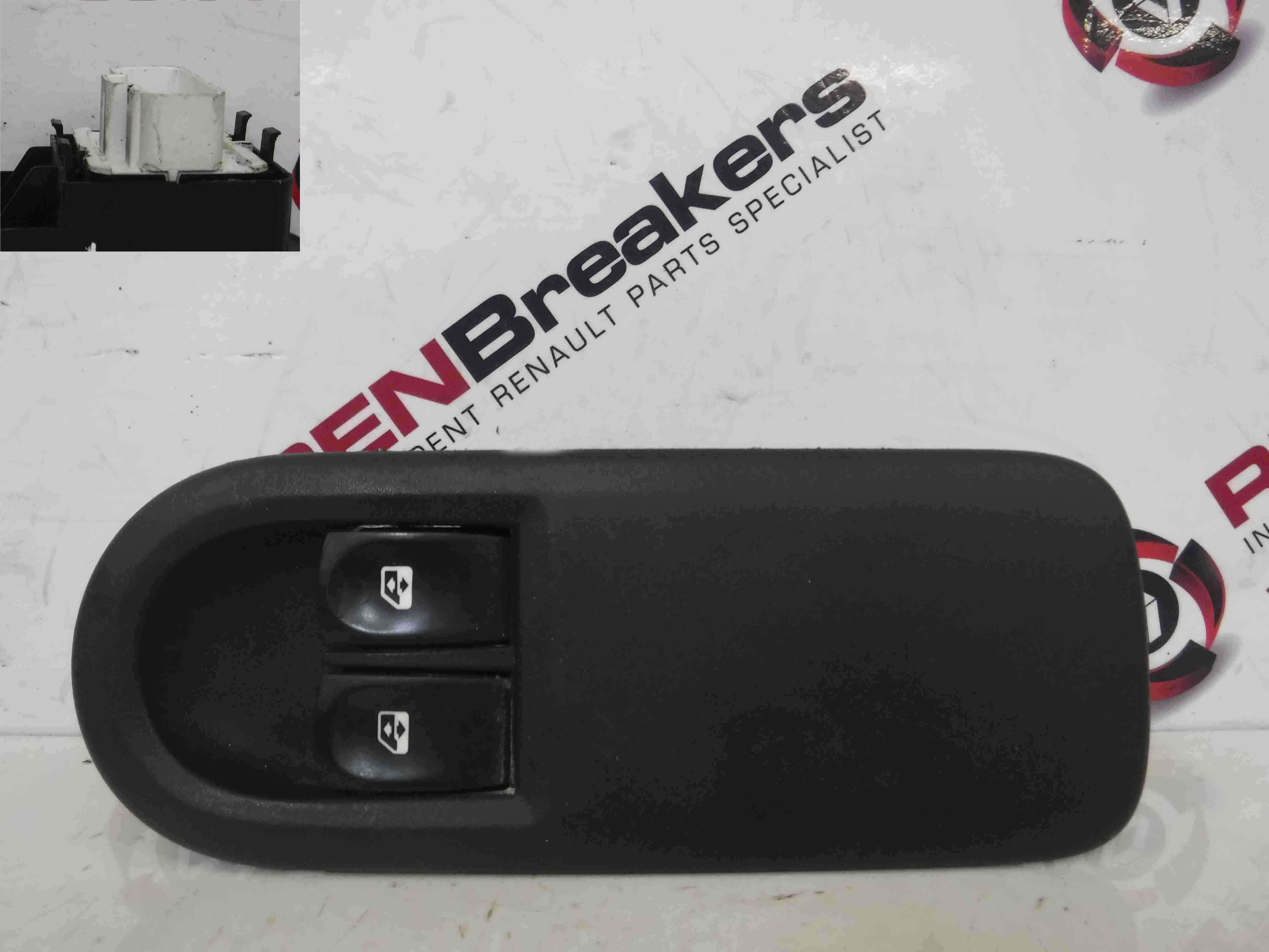 Renault Clio MK3 2005-2012 Drivers OSF Front Window Switch + Panel 8200356520