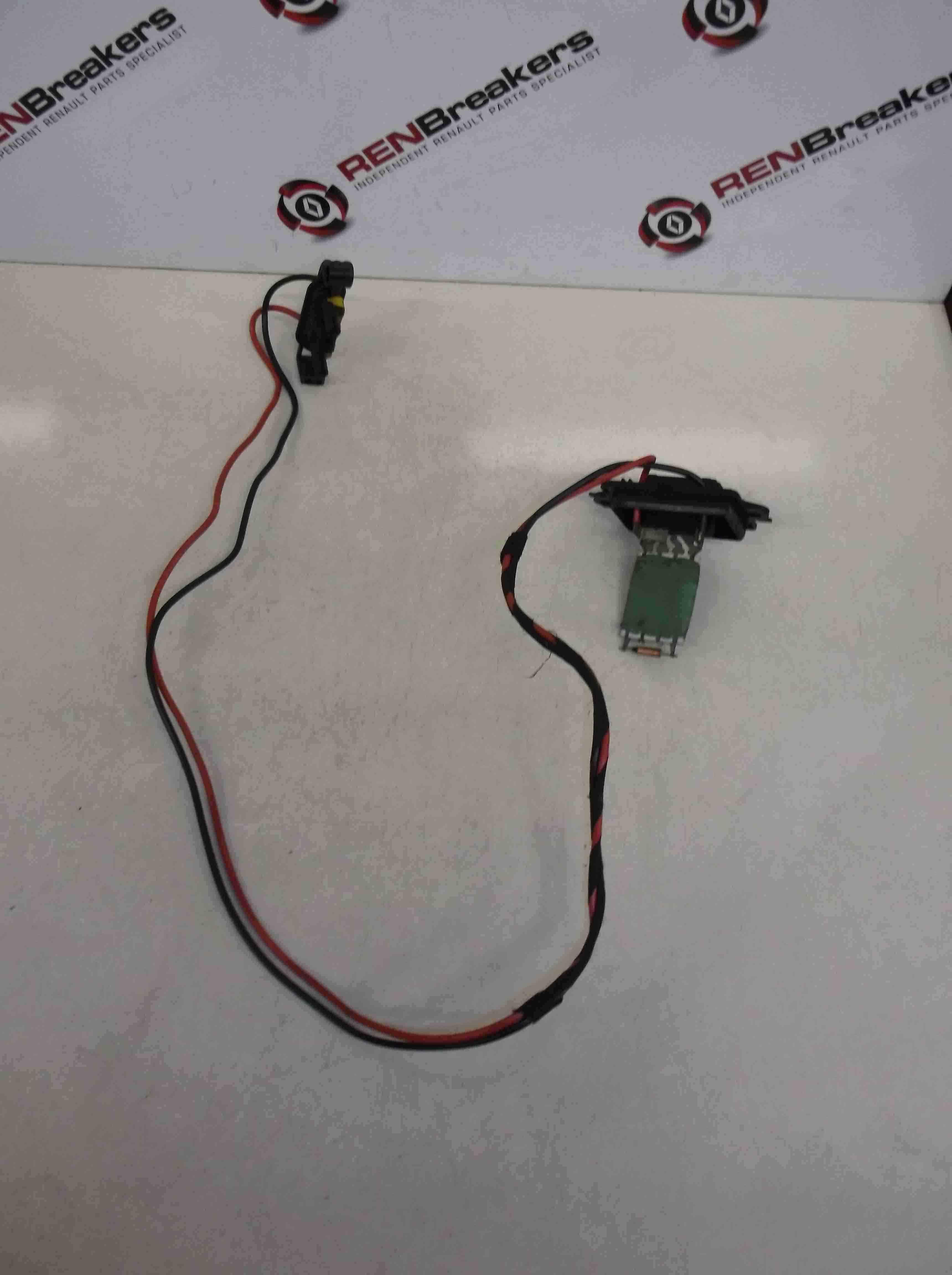Renault Clio MK3 2005-2012 Heater Blower Resistor Motor 5 PINS RESISTOR