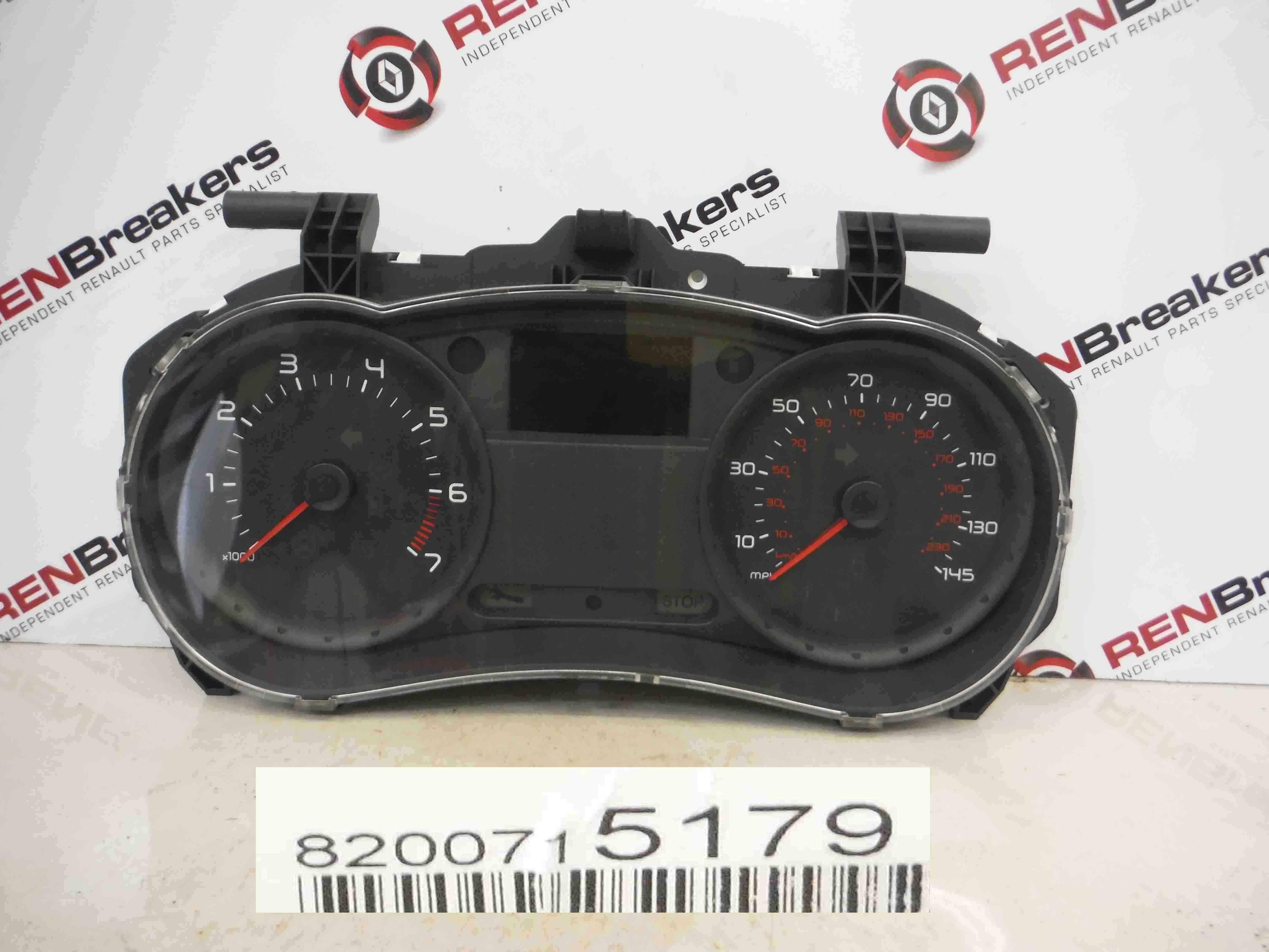 Renault Clio MK3 2005-2012 Instrument Panel Dials Clocks Gauges 81k 8200715179