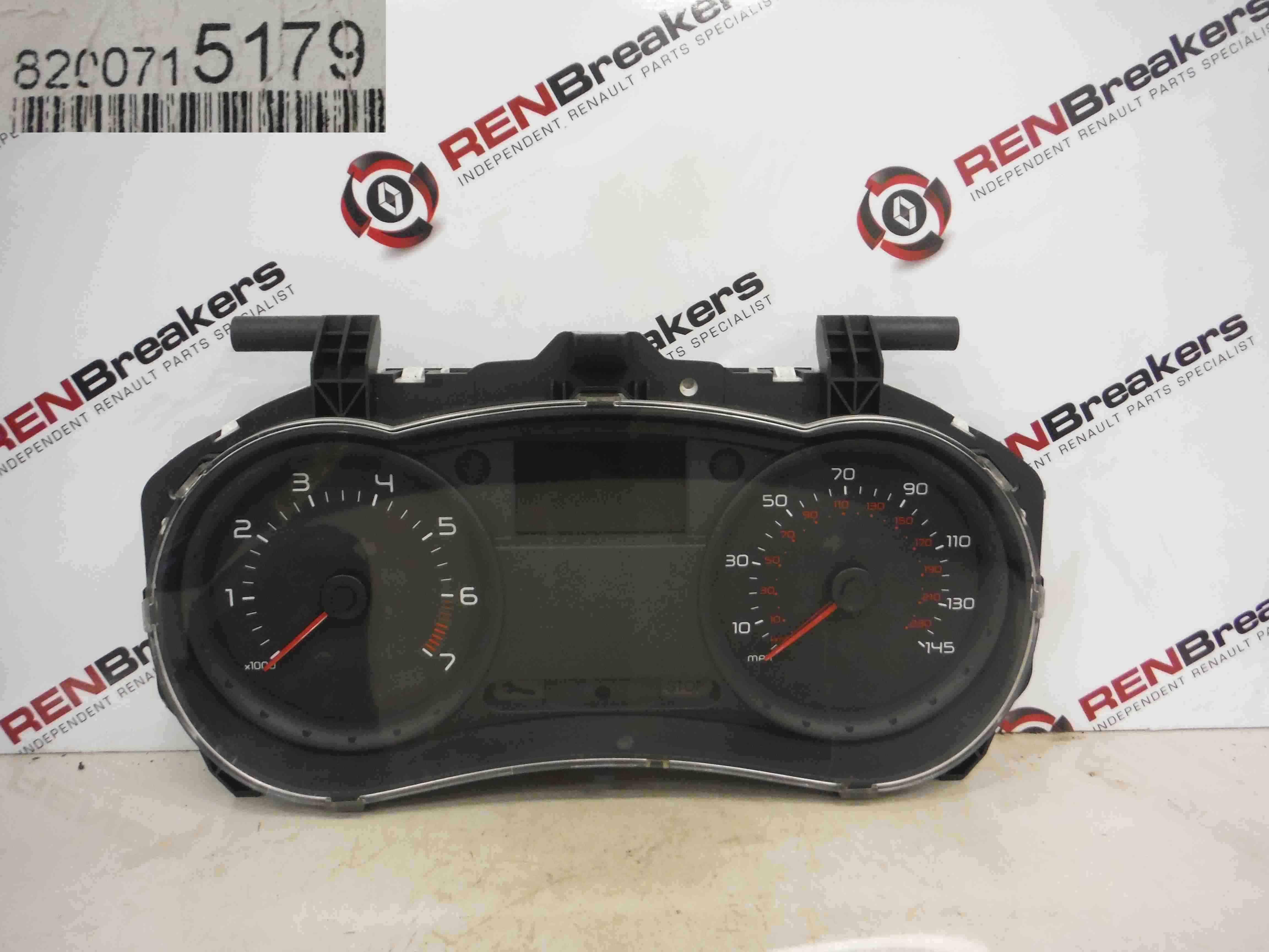 Renault Clio MK3 2005-2012 Instrument Panel Dials Clocks Gauges 64k 8200715179