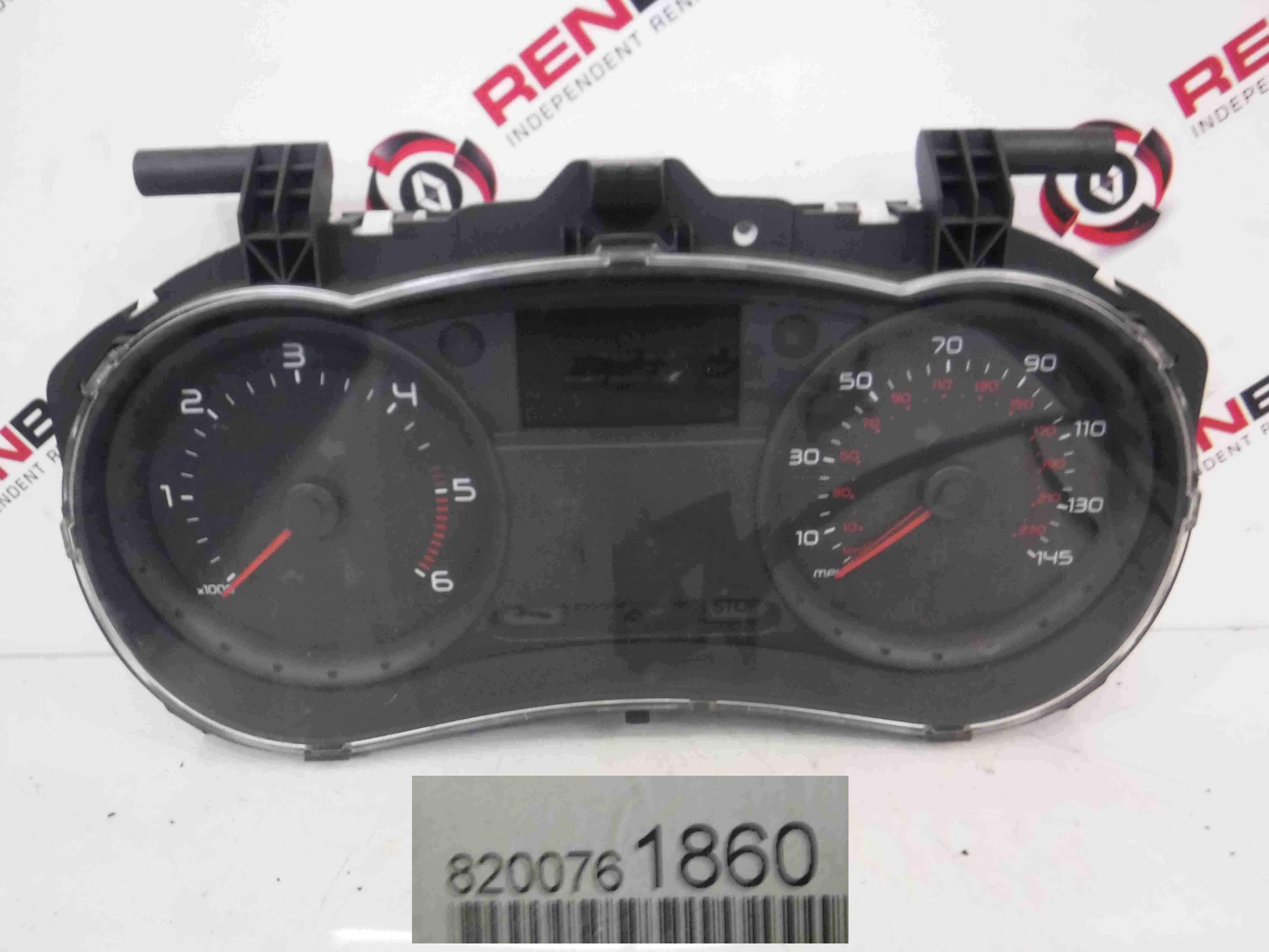Renault Clio MK3 2005-2012 Instrument Panel Dials Gauges Clocks 119K 8200761860