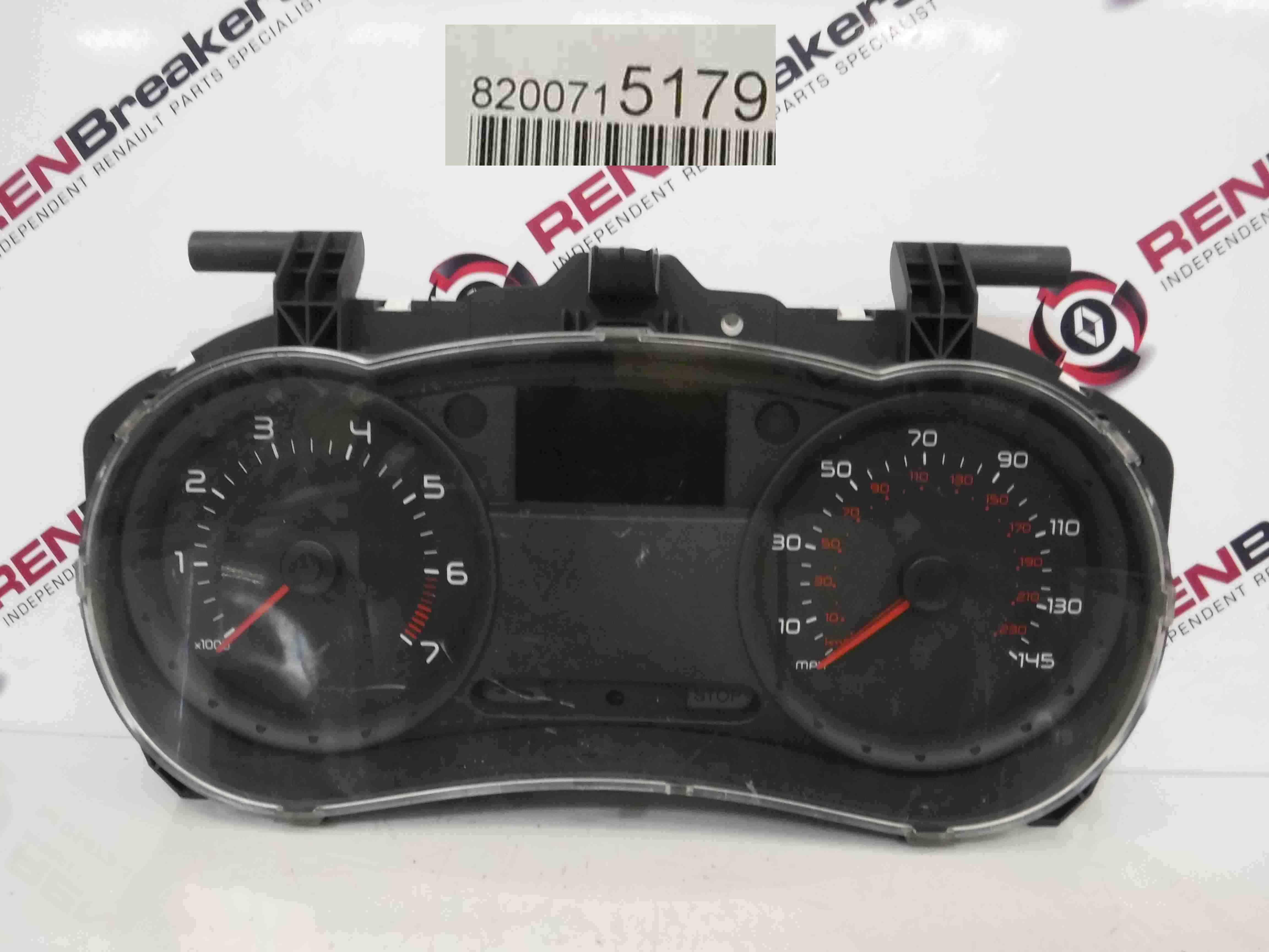 Renault Clio MK3 2005-2012 Instrument Panel Dials Gauges Clocks 109k 8200715179