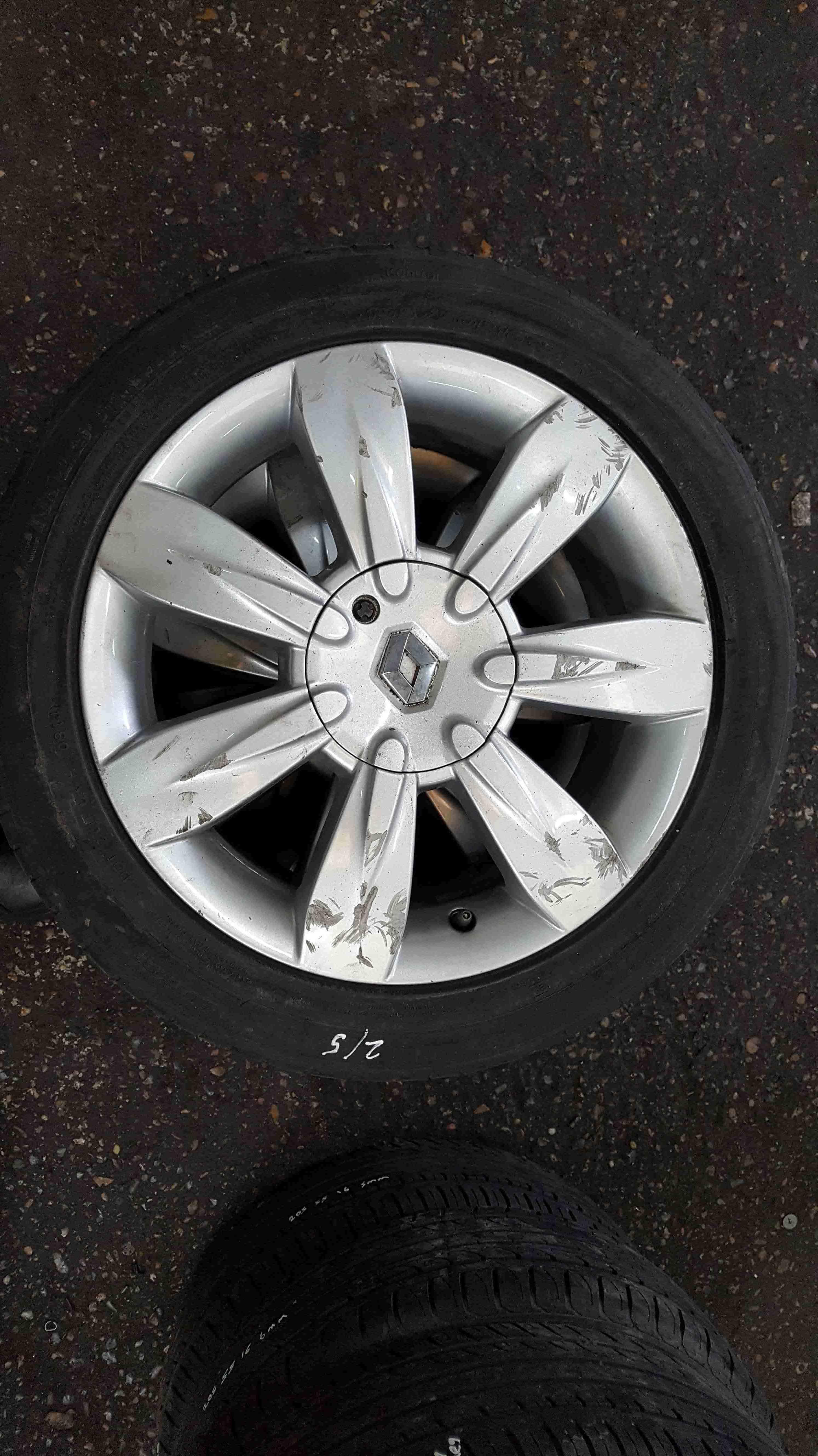 Renault Clio MK3 2005-2012 Lyria Alloy Wheel 16inch 8200400279