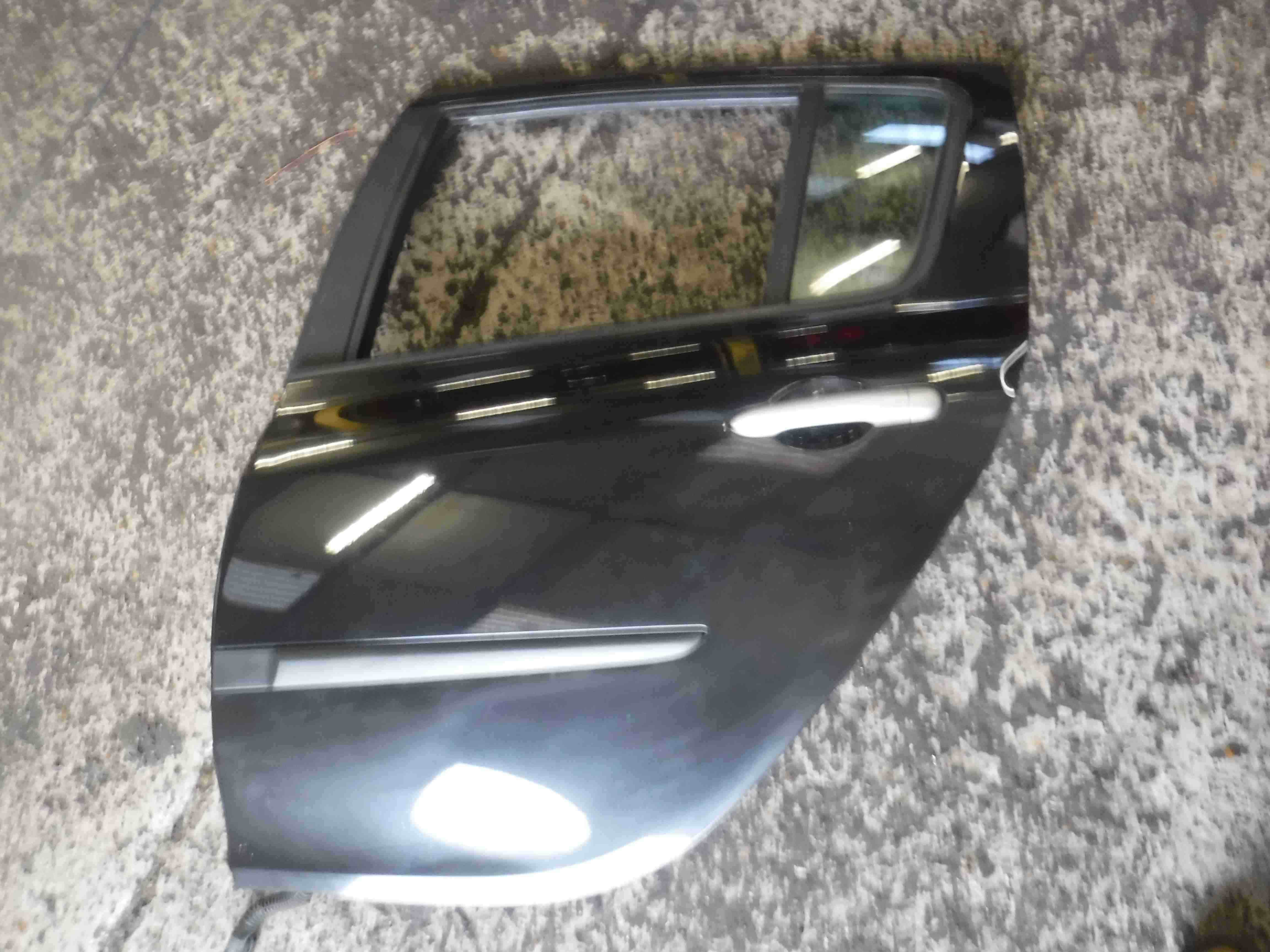 Renault Clio MK3 2005-2012 Passenger NSR Rear Door Black 676 5dr