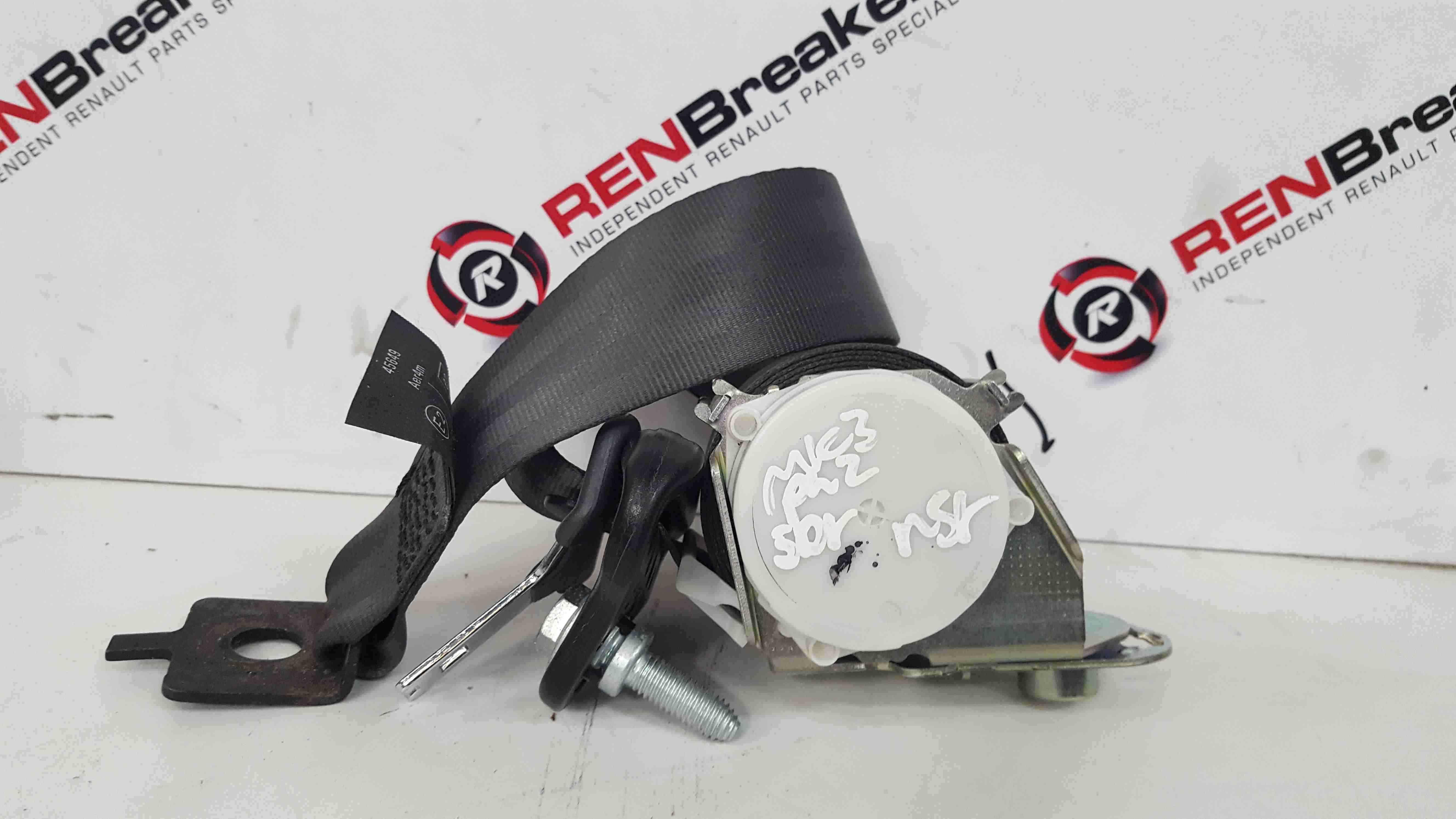 Renault Clio MK3 2005-2012 Passenger NSR Rear Seat Belt Non pretensioner