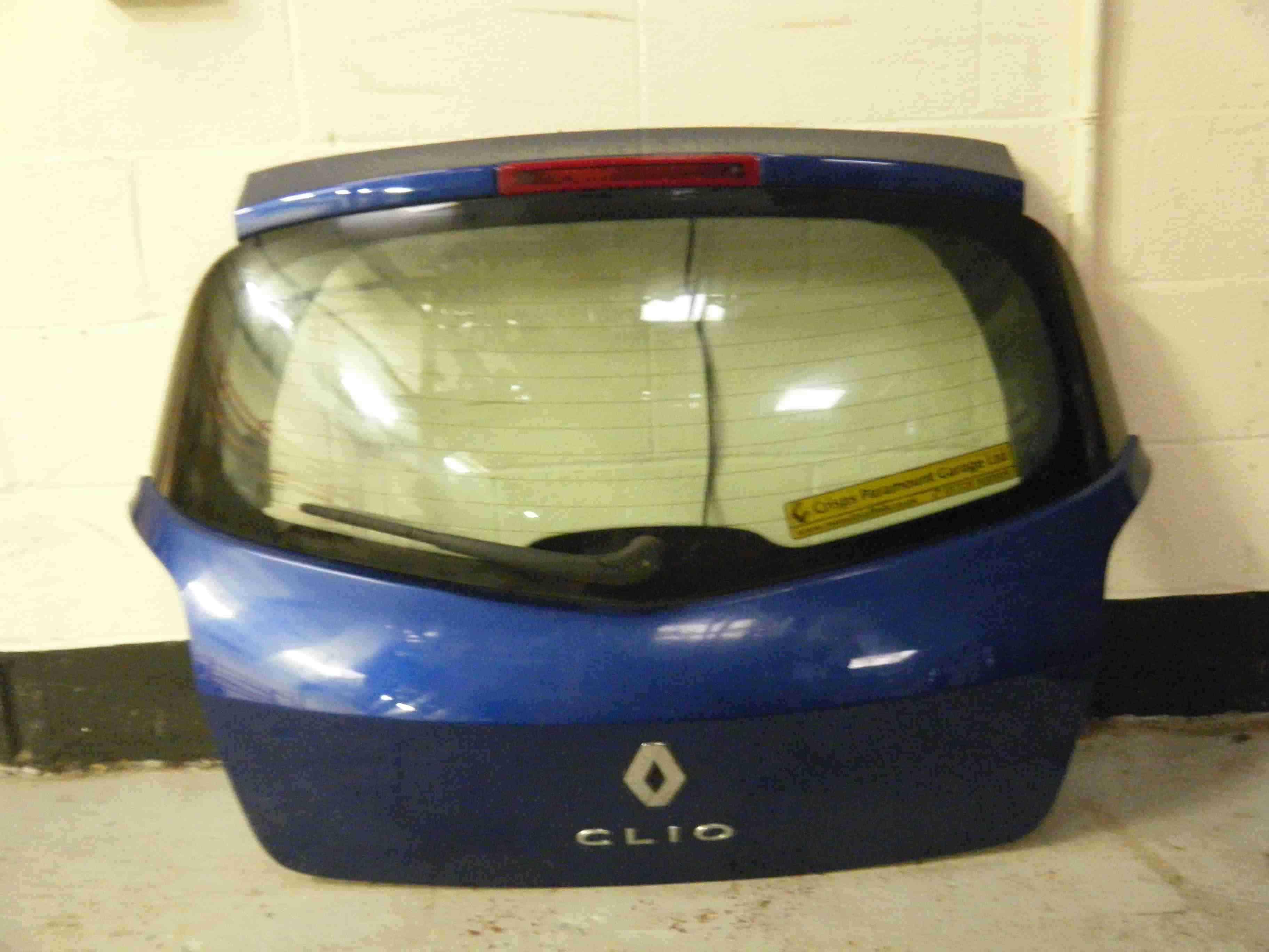 Renault Clio MK3 2005-2012 Rear Boot Tailgate Blue TERNA