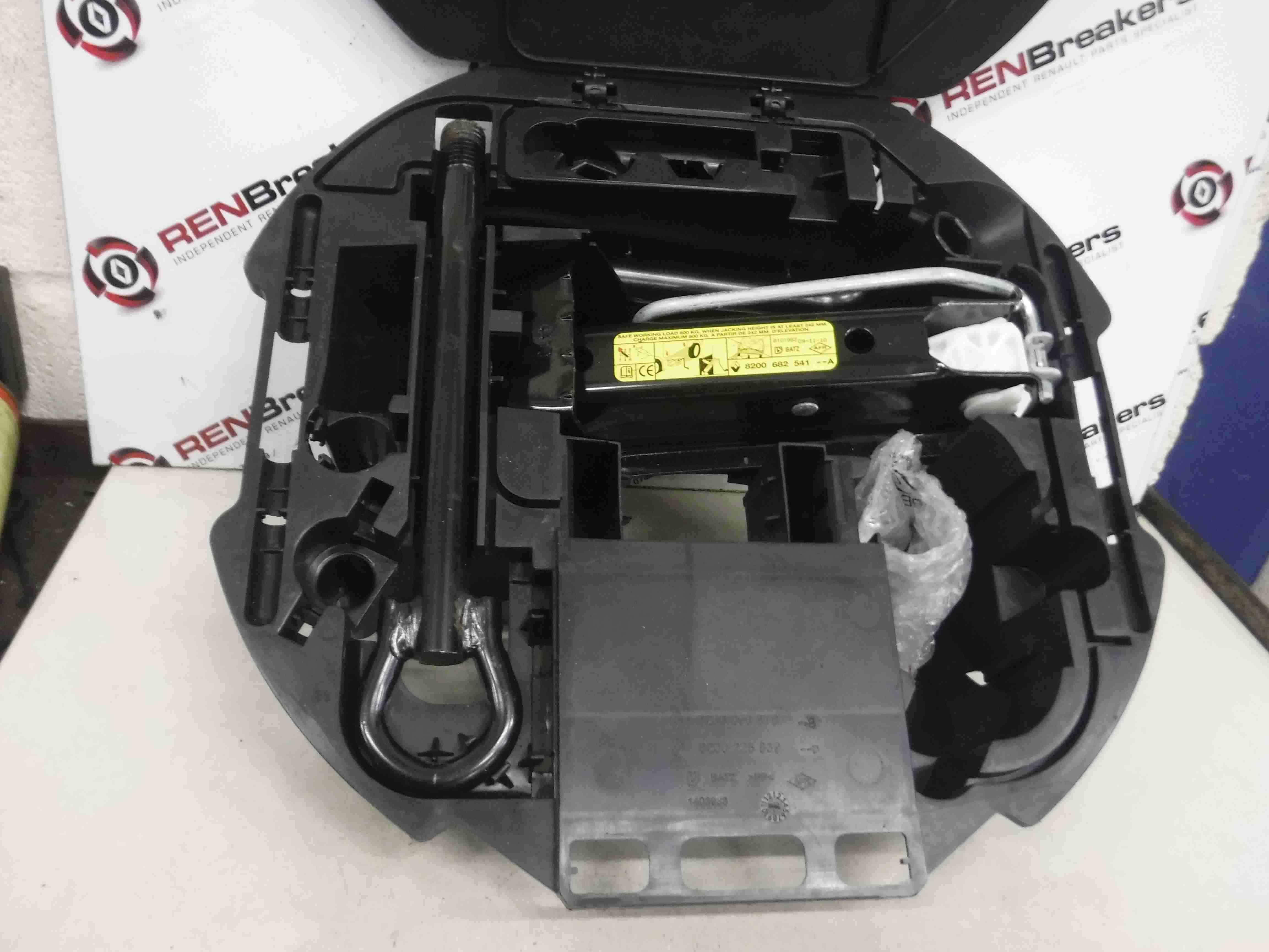 Renault Clio MK3  modus 2005-2012  Spare Wheel Jack Set 8200696876 8200225839