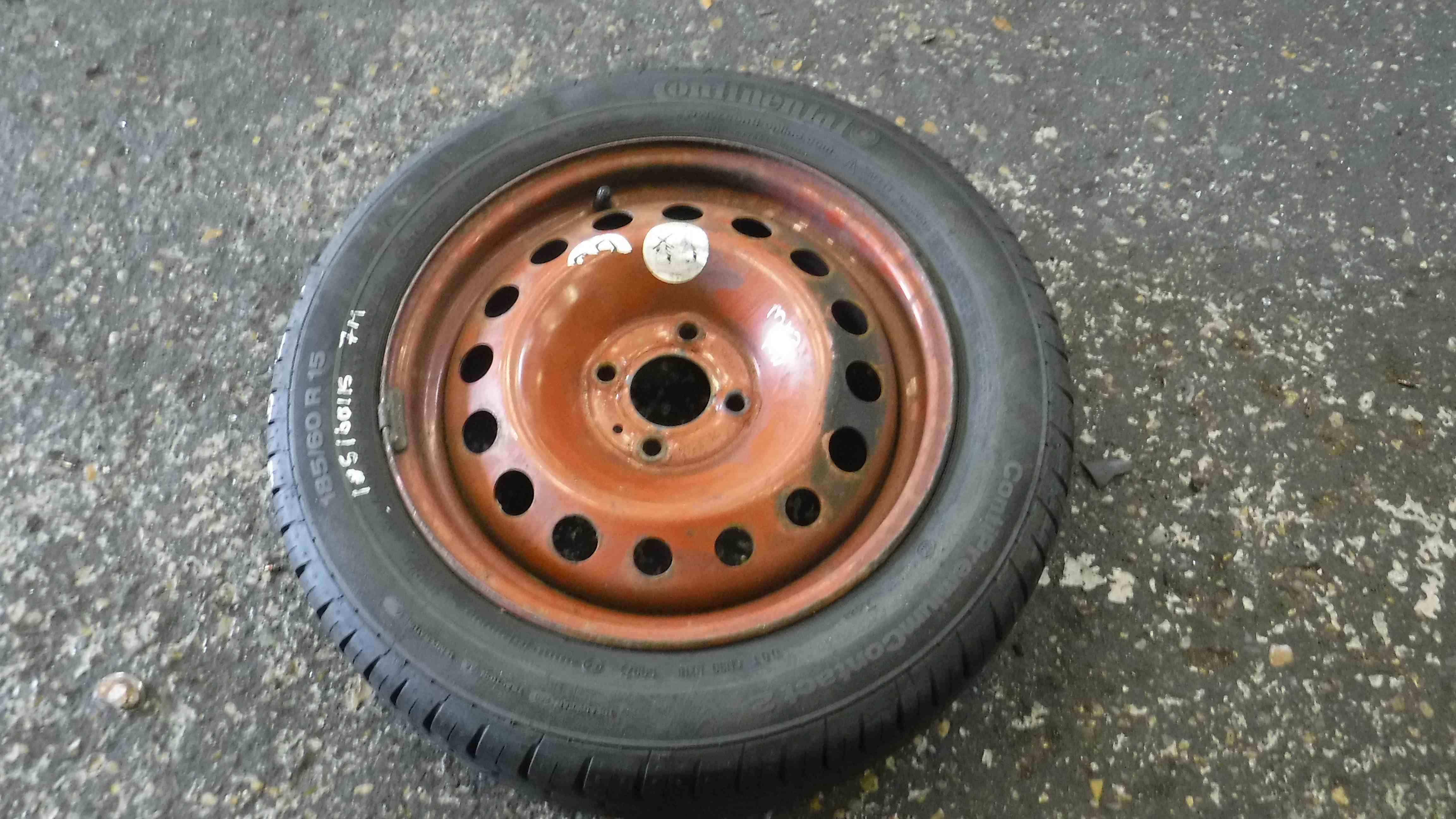 Renault Clio MK3  MK4 2005-2018 Spare Wheel Space Saver Tyre 185 60 15 7mm