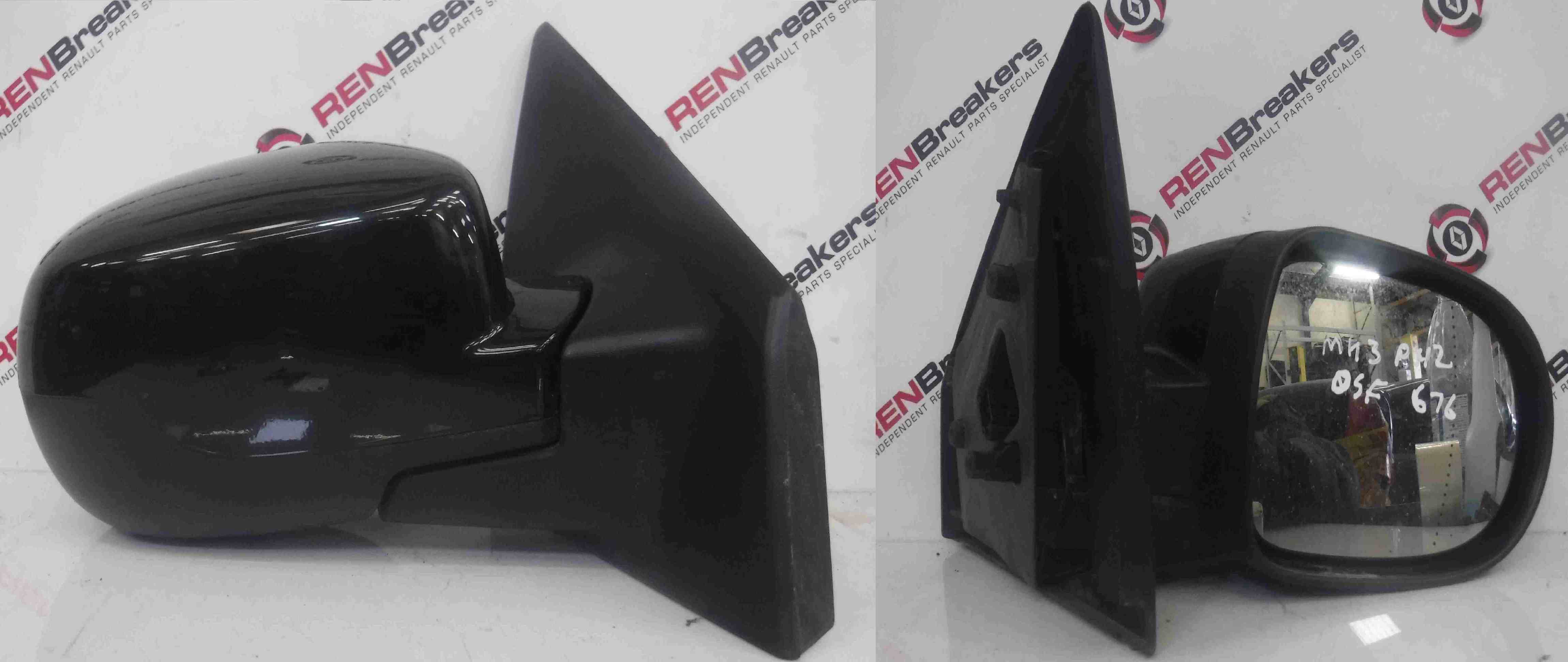 Renault Clio MK3 2009-2012 Drivers OS Wing Mirror 676 Electric Facelift