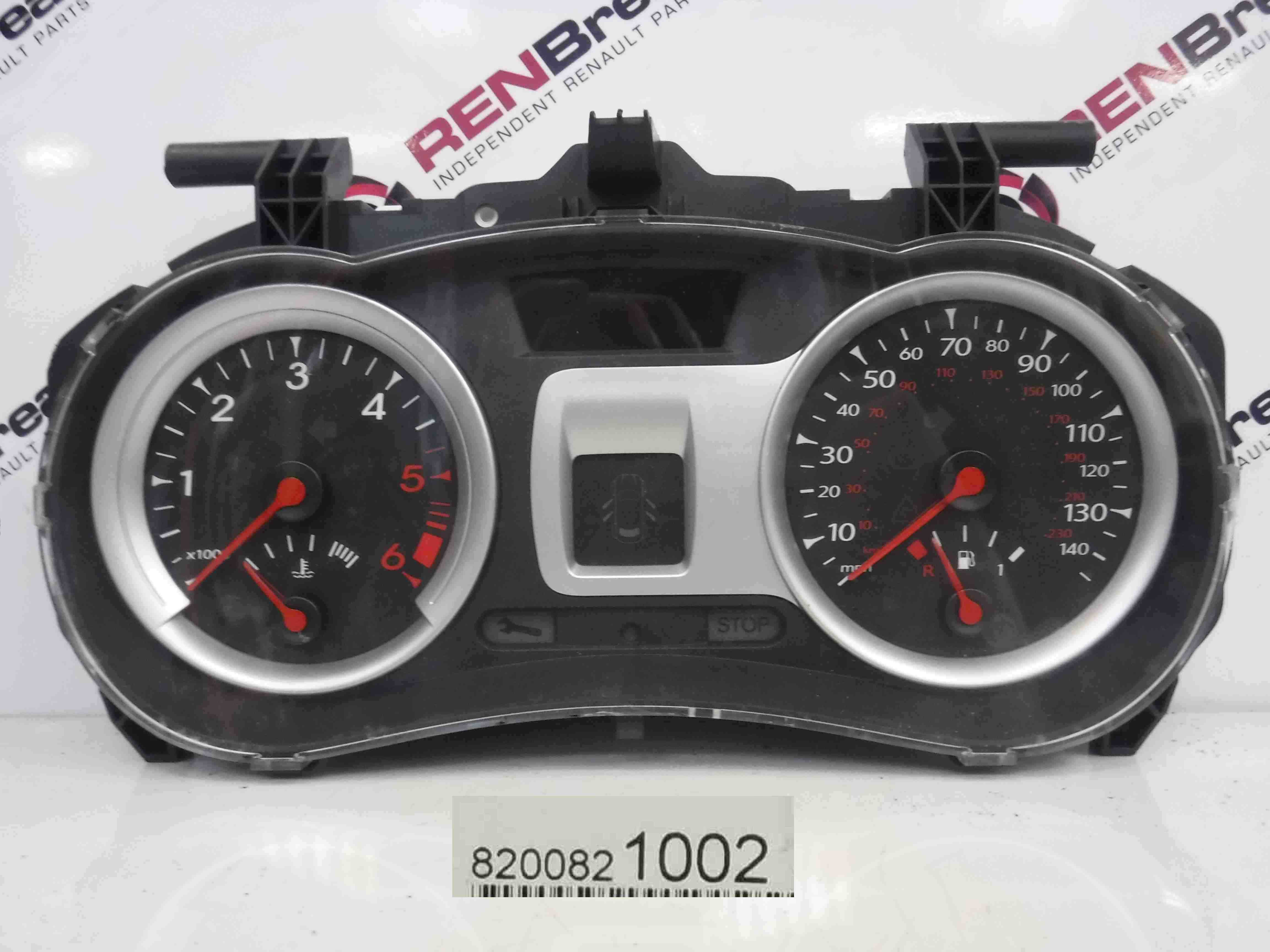 Renault Clio MK3 2009-2012 Instrument Panel Dials Clocks 111K 8200821002