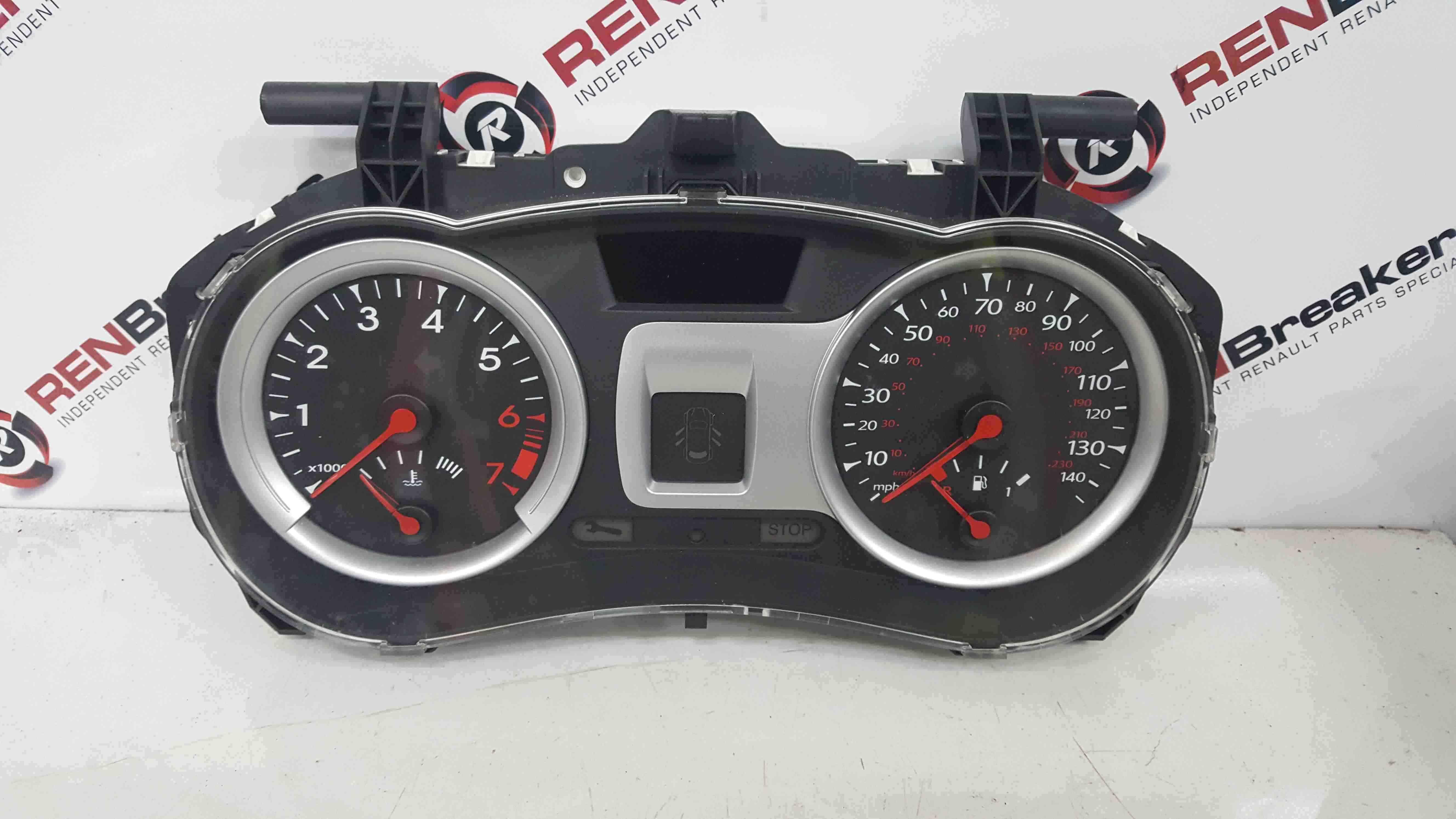 Renault Clio MK3 2009-2012 Instrument Panel Dials Gauges Clocks 8200821000