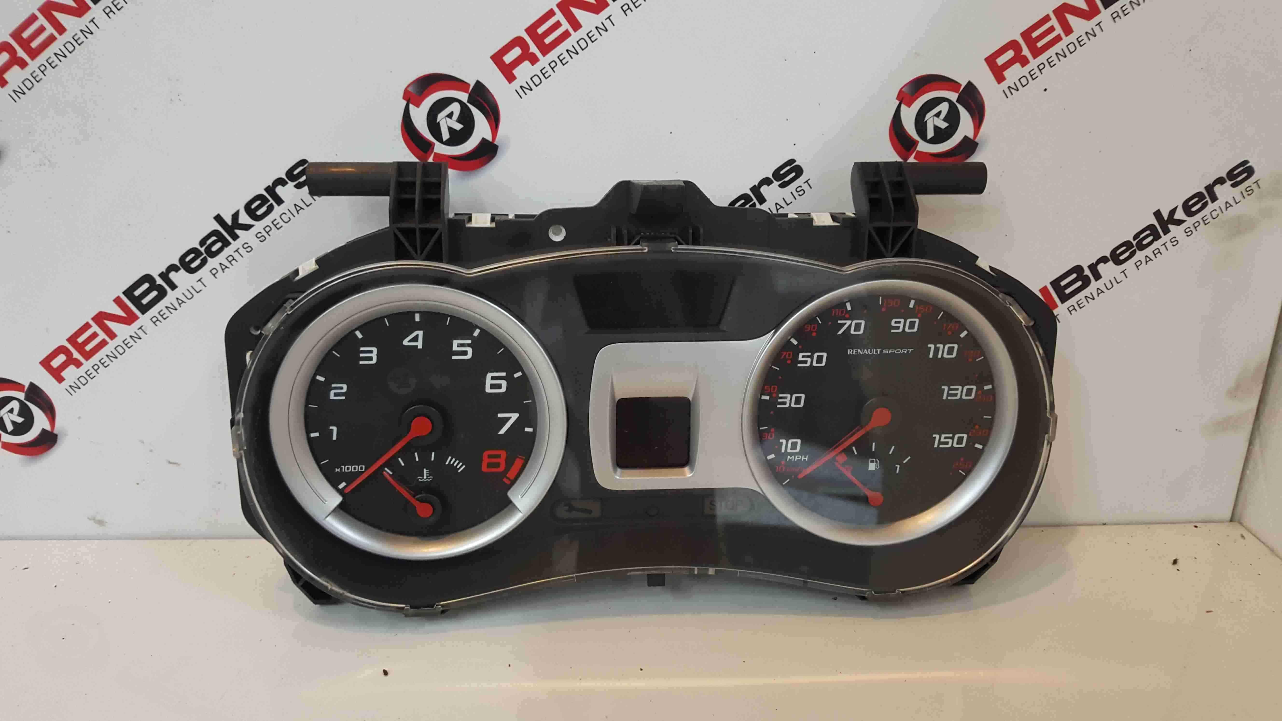 Renault Clio MK3 Sport 2005-2012 197 Instrument Panel Dials Clocks