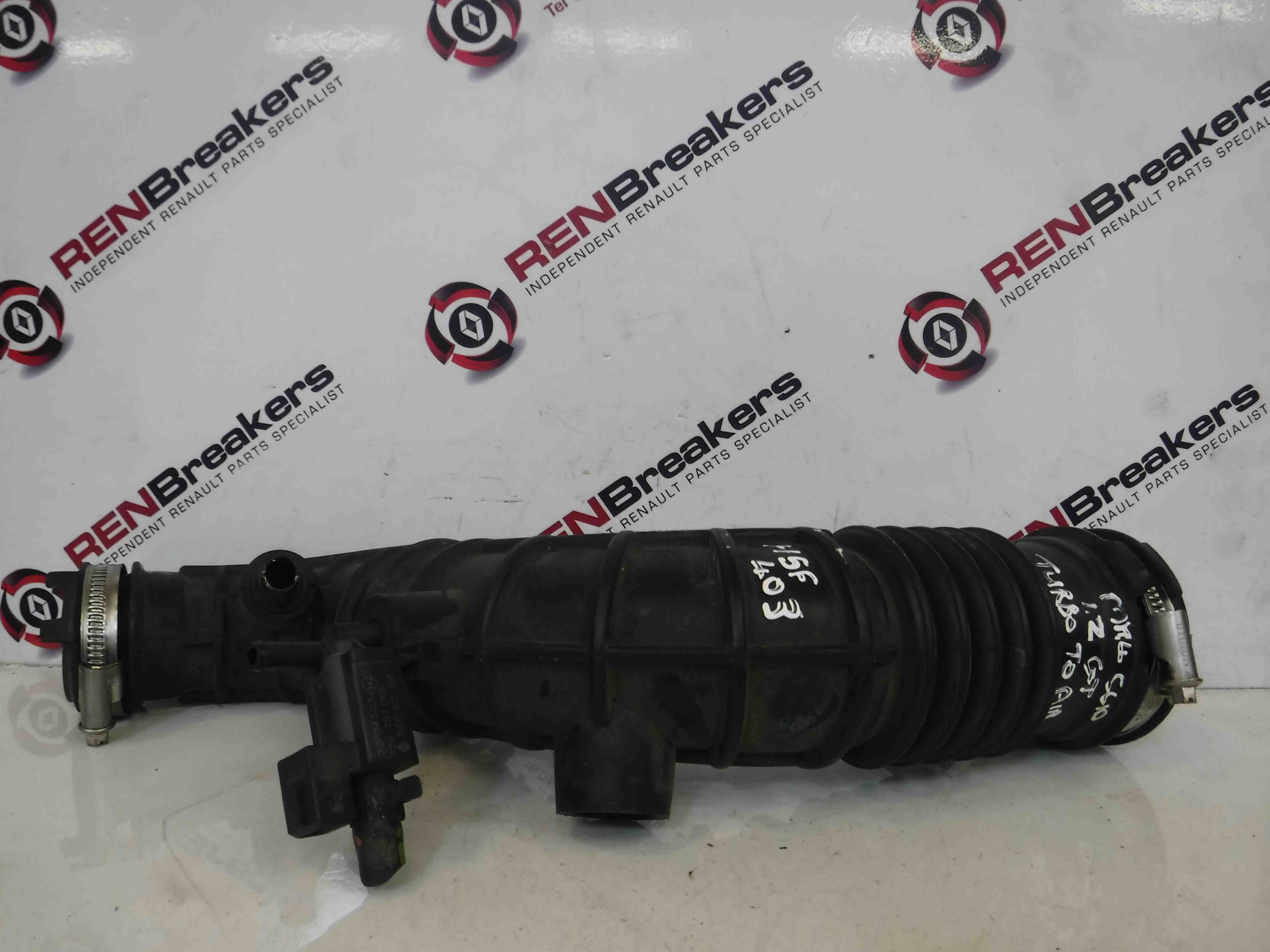 Renault Clio MK4 2013-2015 1.2 Turbo To Airbox Pipe H5FT 412