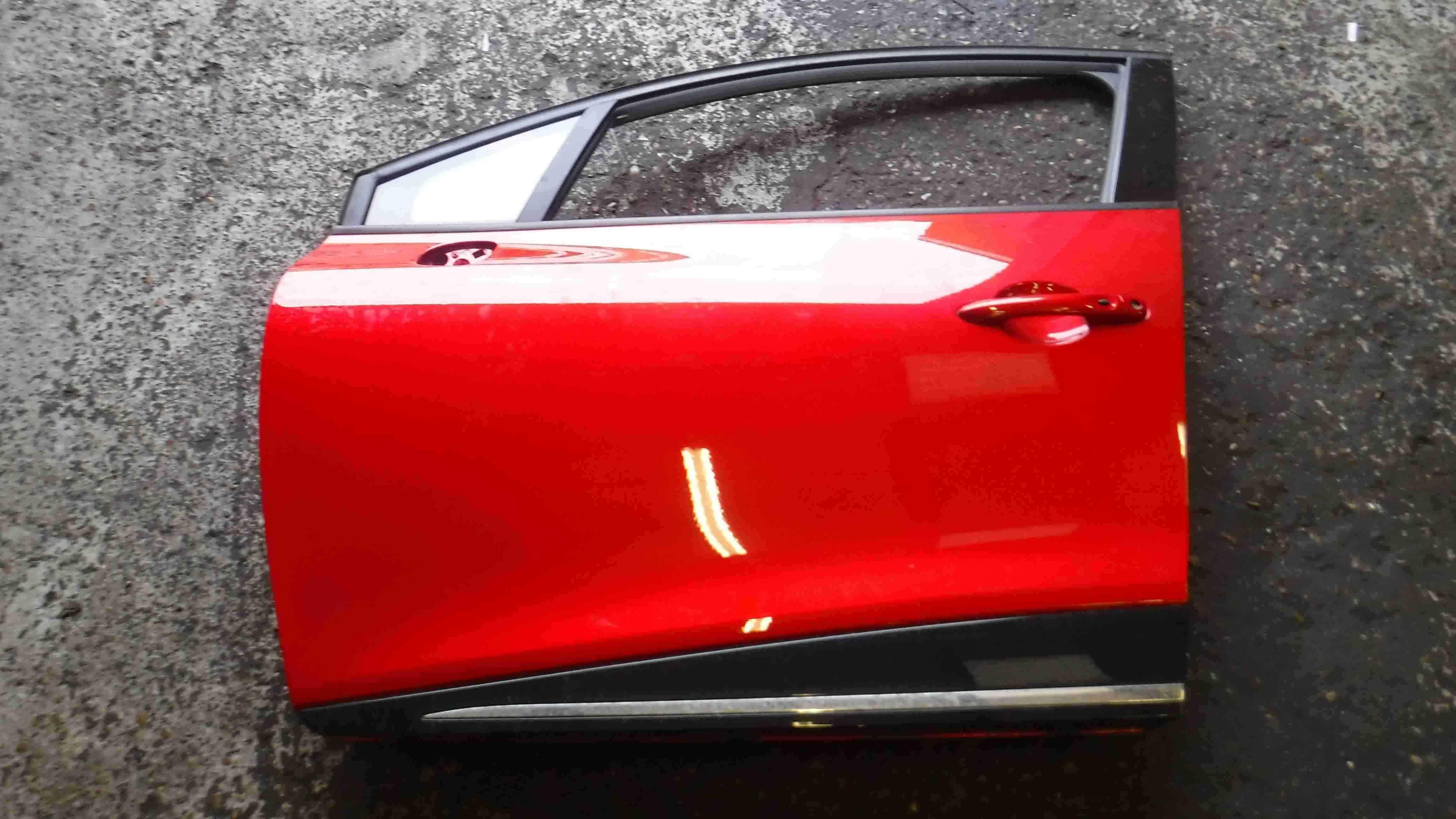 Renault Clio MK4 2013-2015 Passenger NSF Front Door Red TENNP