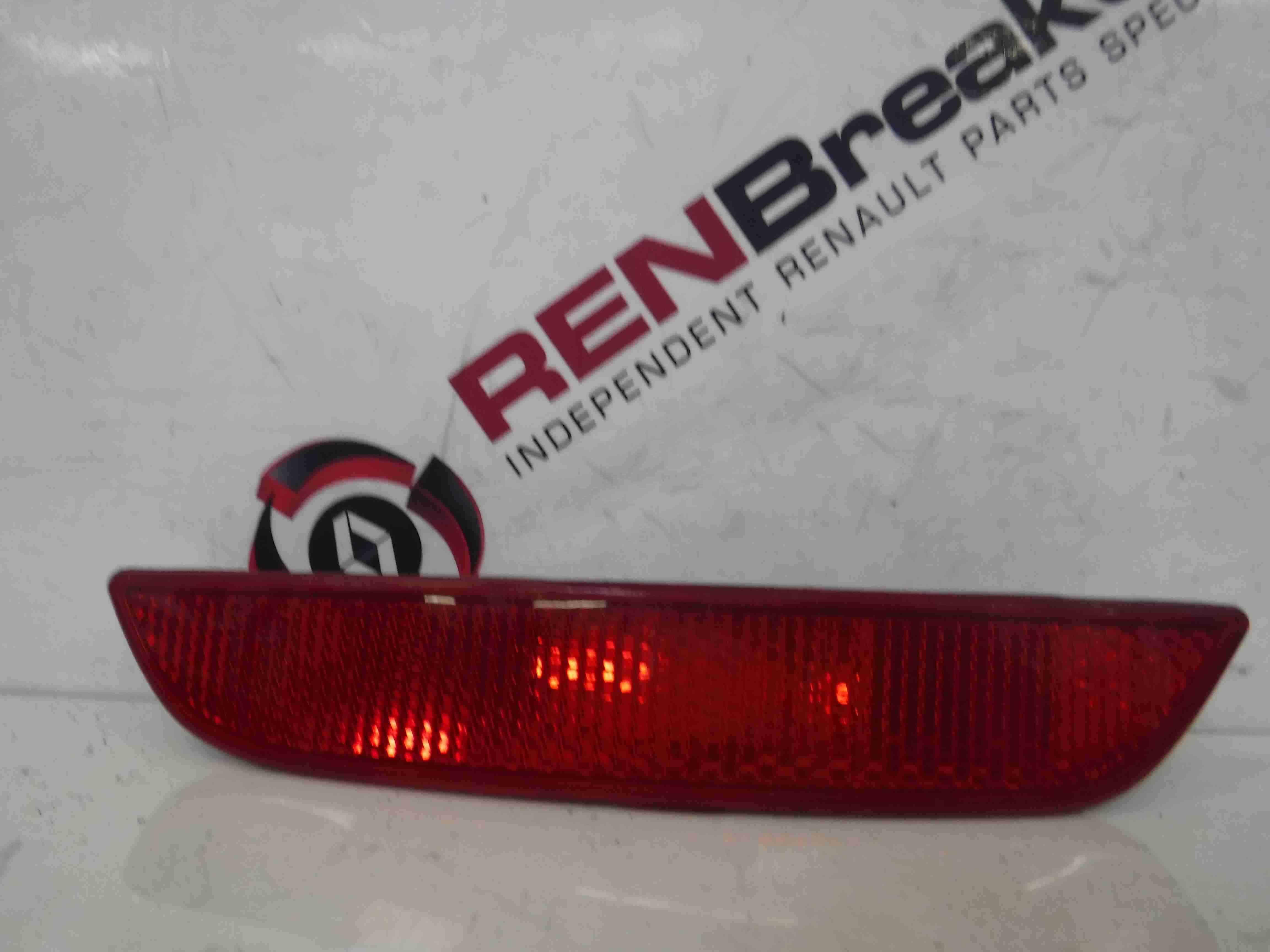 Renault Clio MK4 2013-2015 Passenger NSR Rear Bumper Light Reflector 265659650R