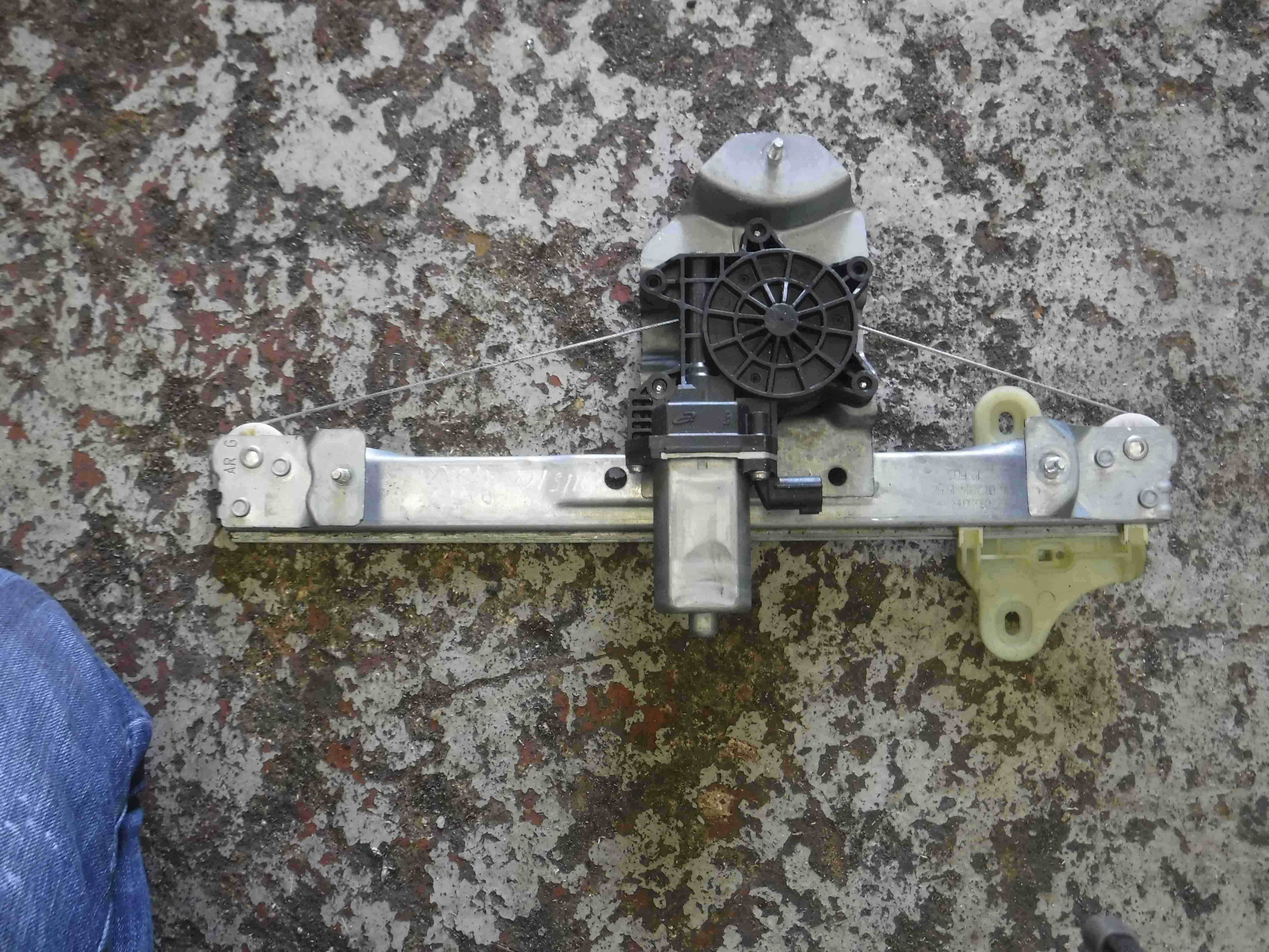 Renault Clio MK4 2013-2015 Passenger NSR Rear Window Motor Regulator 2 Pin