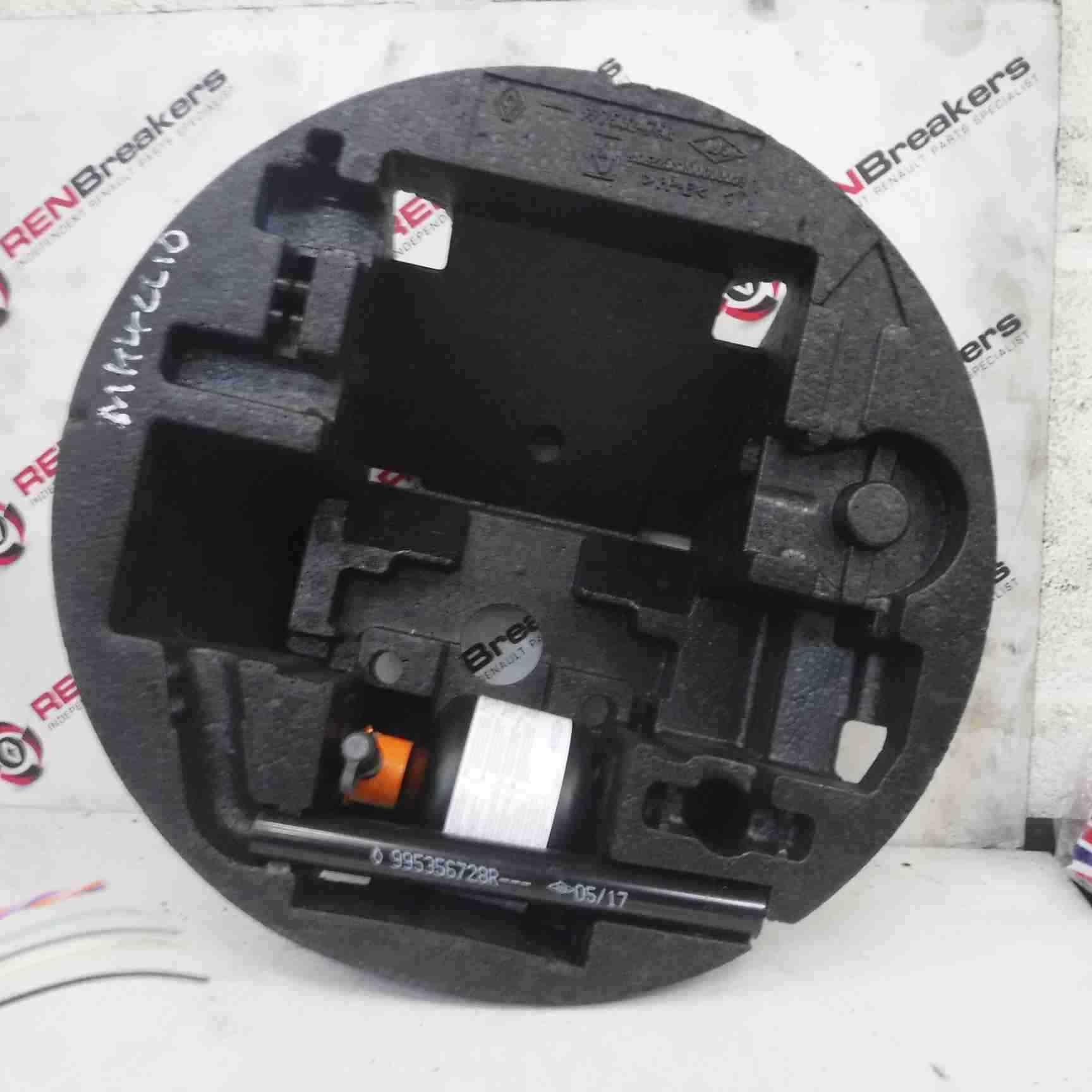 Renault Clio MK4 2013-2017 Spare Wheel Foam And Brace Only