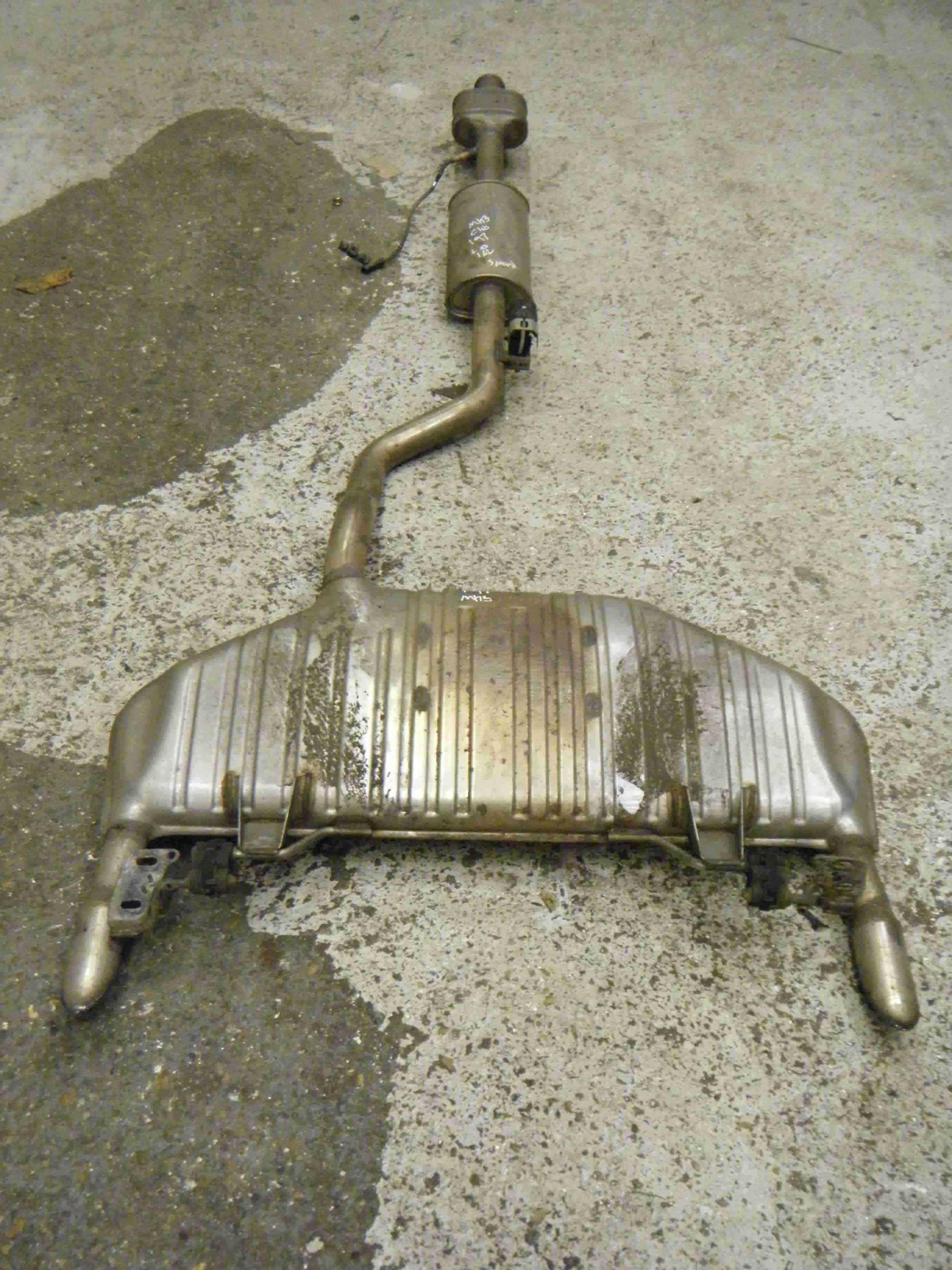 Renault Clio Sport 2005-2012 197 2.0 Exhaust System Backbox Catalytic Converter