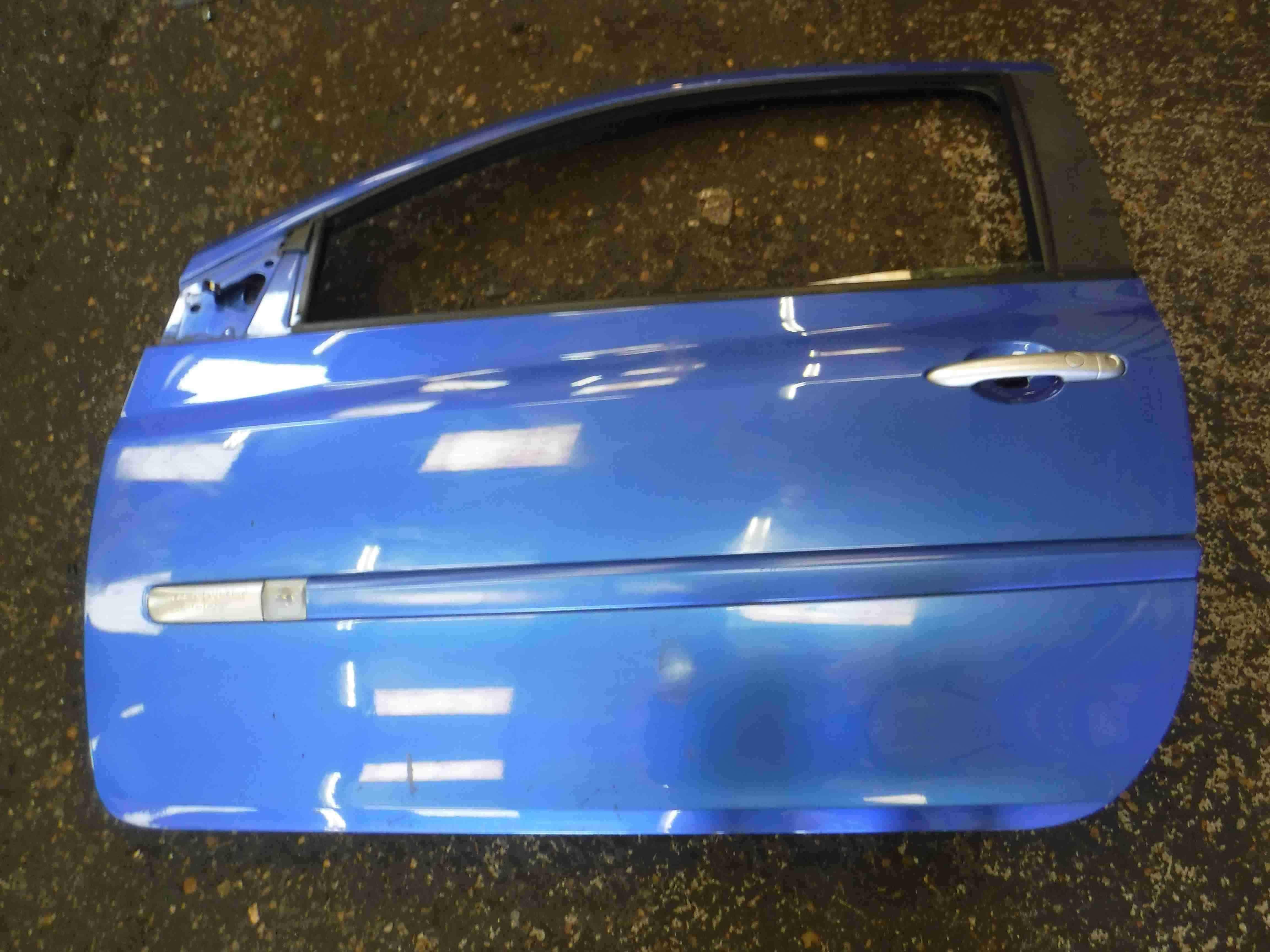 Renault Clio Sport 2005-2012 197 200 Passenger NSF Front Door Blue TERNC