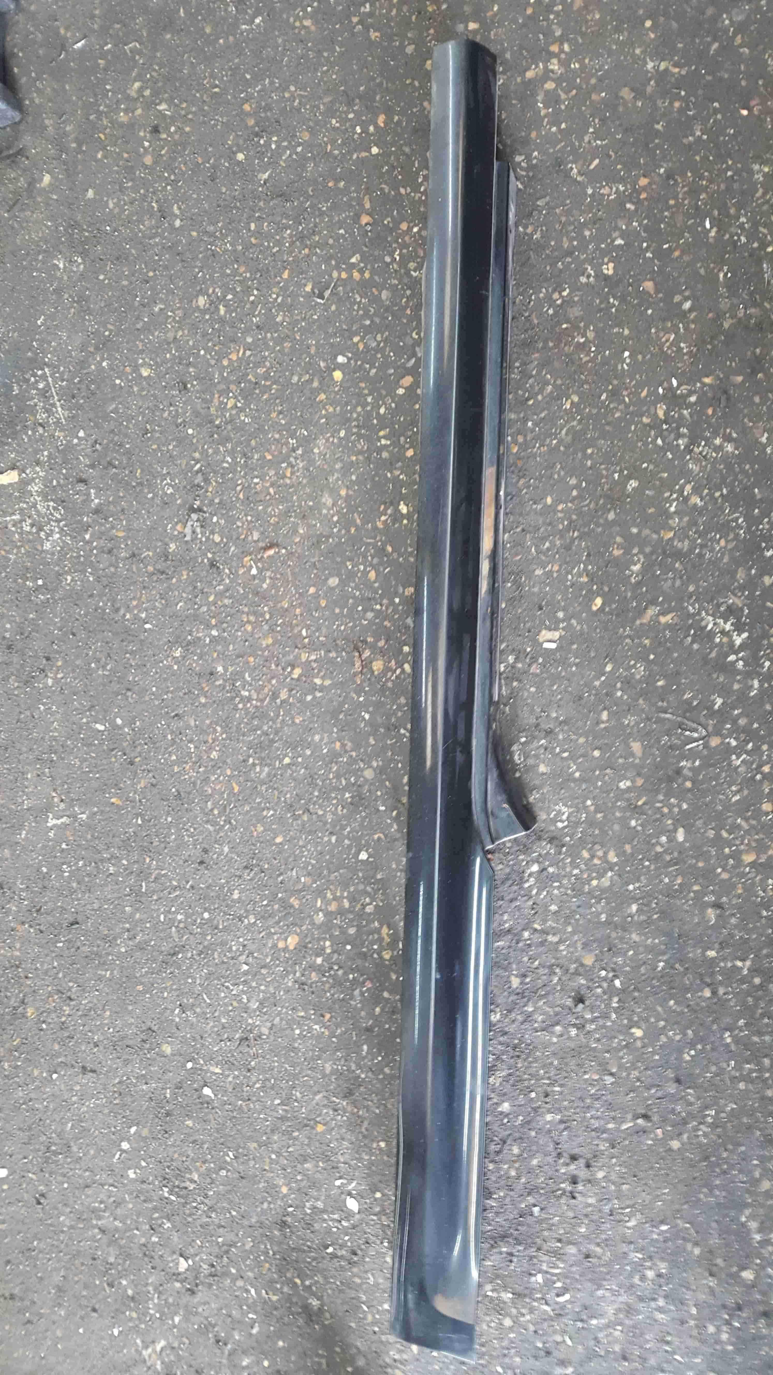 Renault Clio Sport MK3 2005-2009 197 Passenger NS Side Skirt Black TEGNA 1234