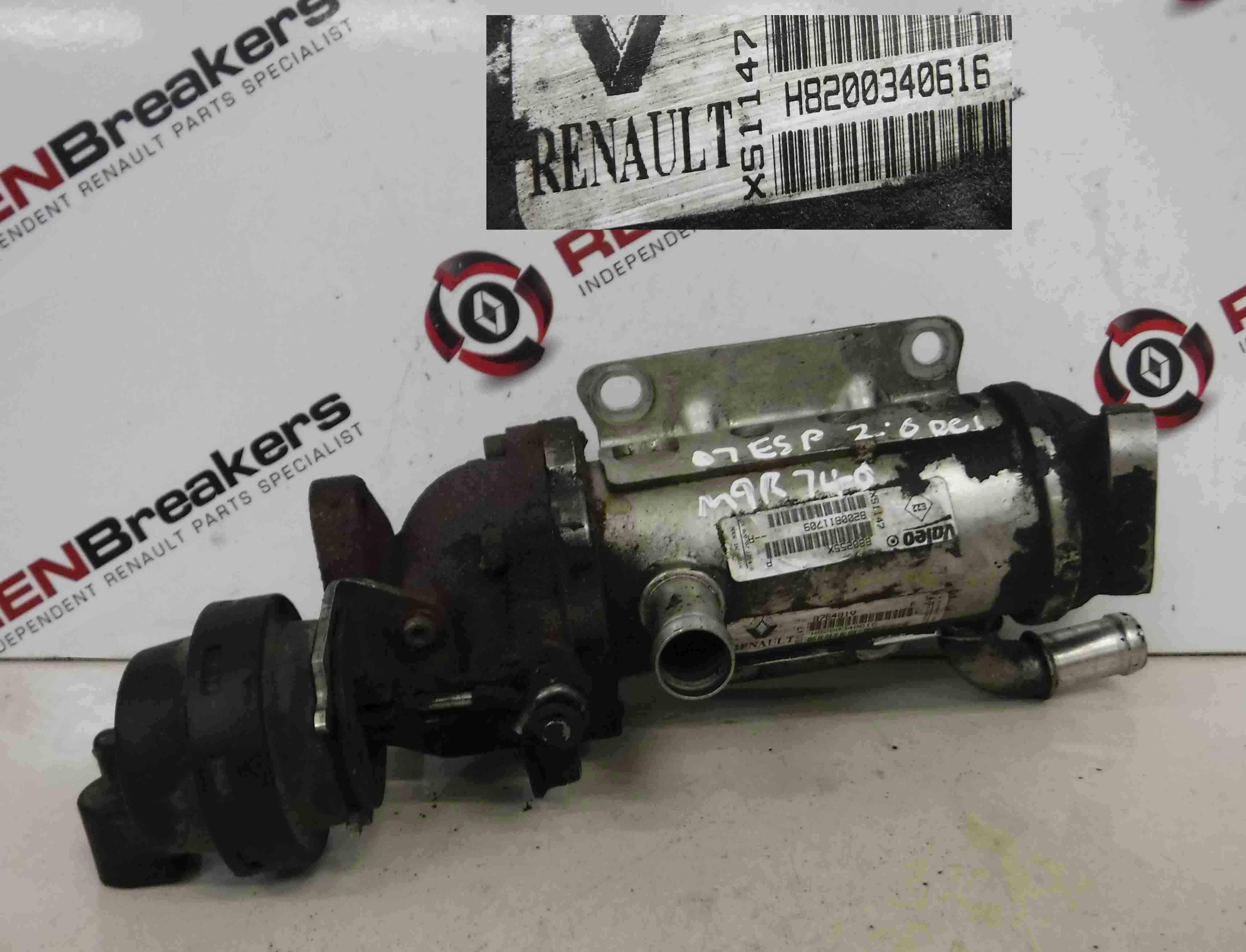 Renault Espace + Laguna 2003-2013 2.0 dCi EGR Valve Housing 8200340616