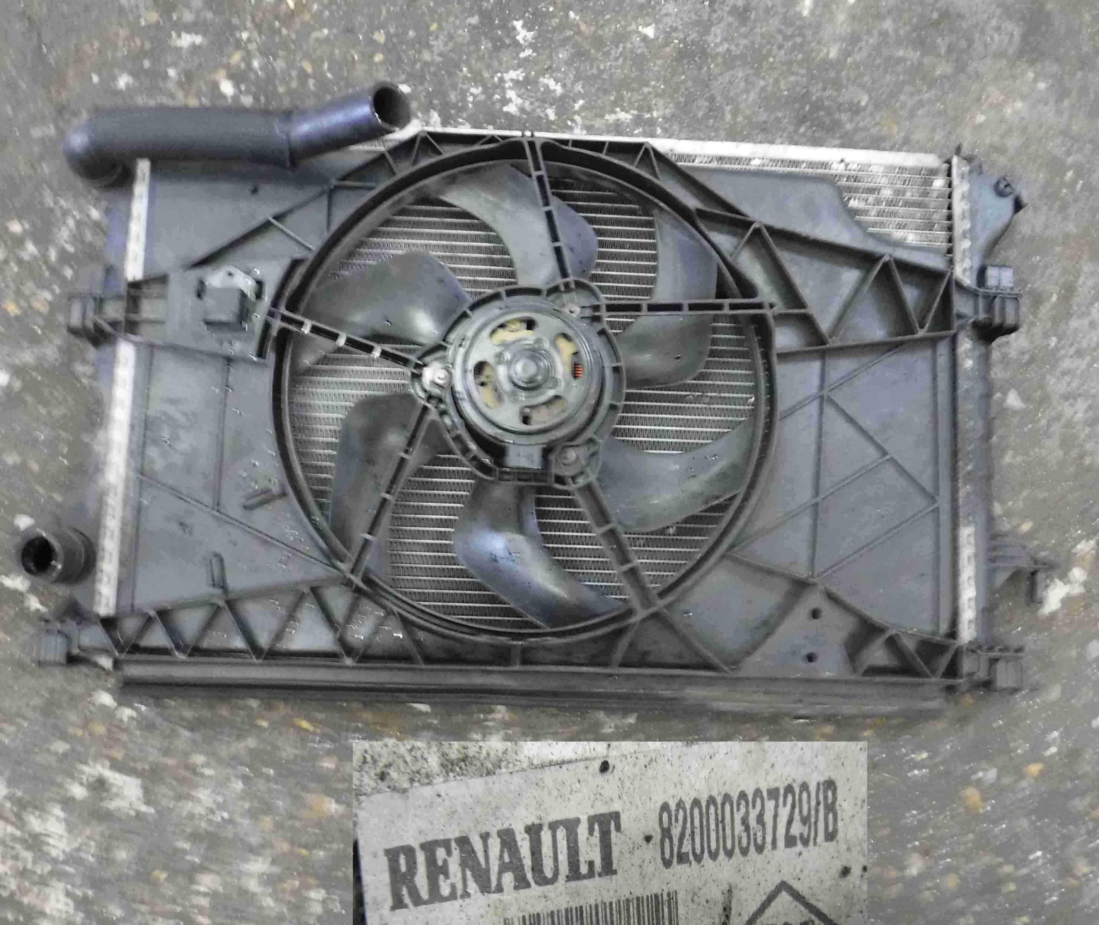 Renault Espace 2003-2013 2.2 dCi Radiator Rad Pack Fan 8200033729