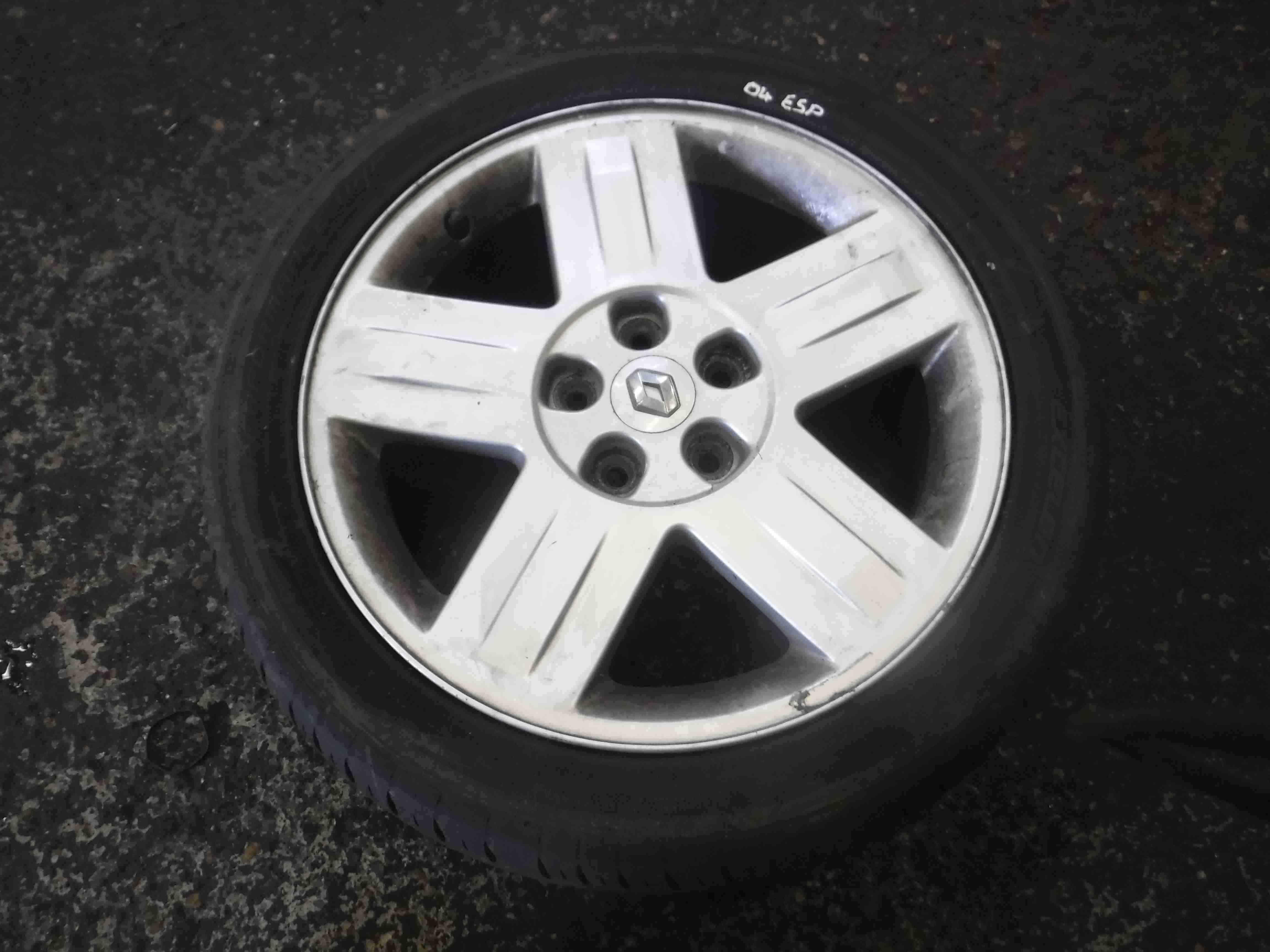 Renault Espace 2003-2013 Antares Alloy Wheel + Tyre 225 45 17 4mm 4/5