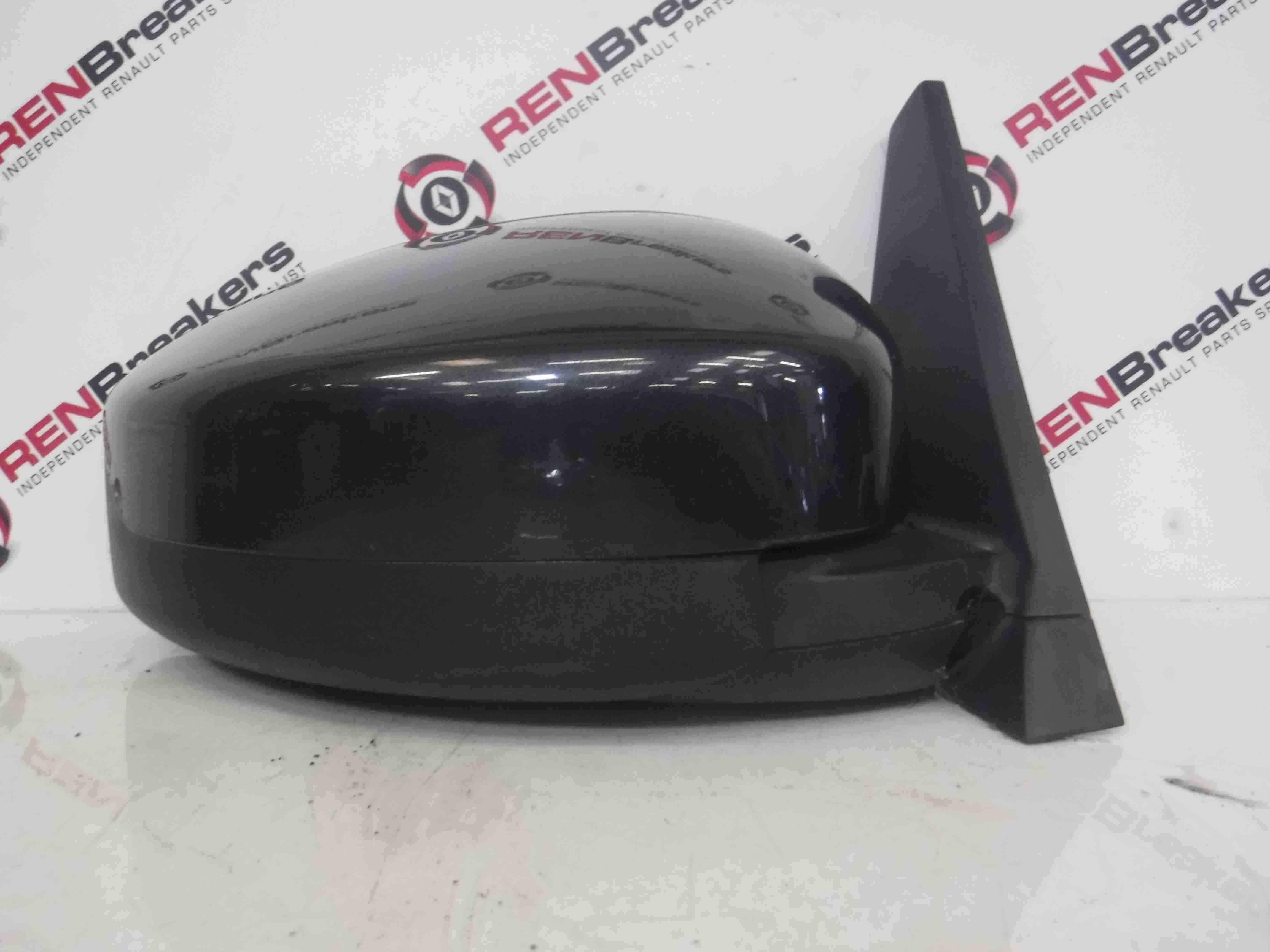 Renault Espace 2003-2013 Drivers OS Wing Mirror Grey TEB66 Folding
