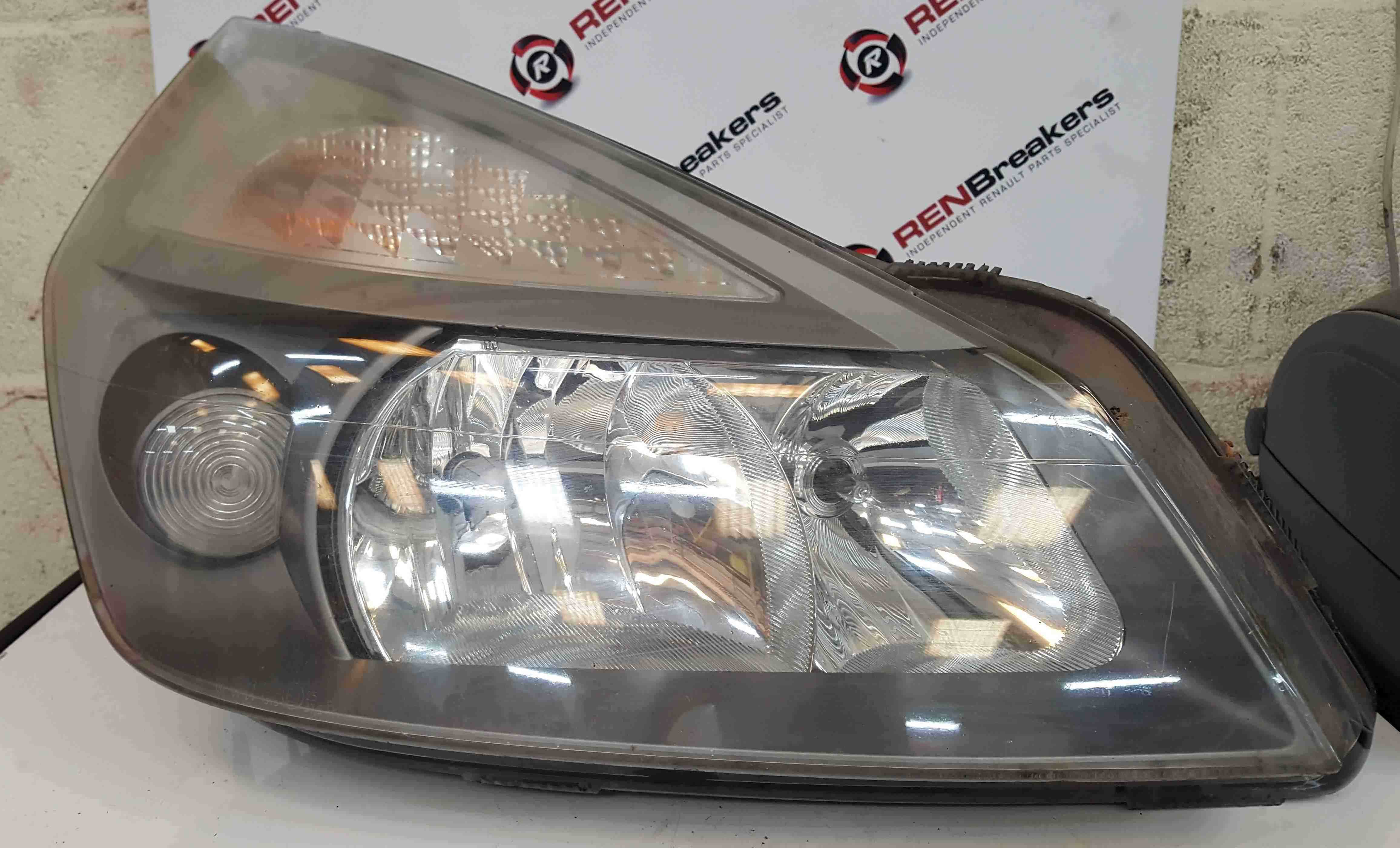 Renault Espace 2003-2013 Drivers OSF Front Headlight