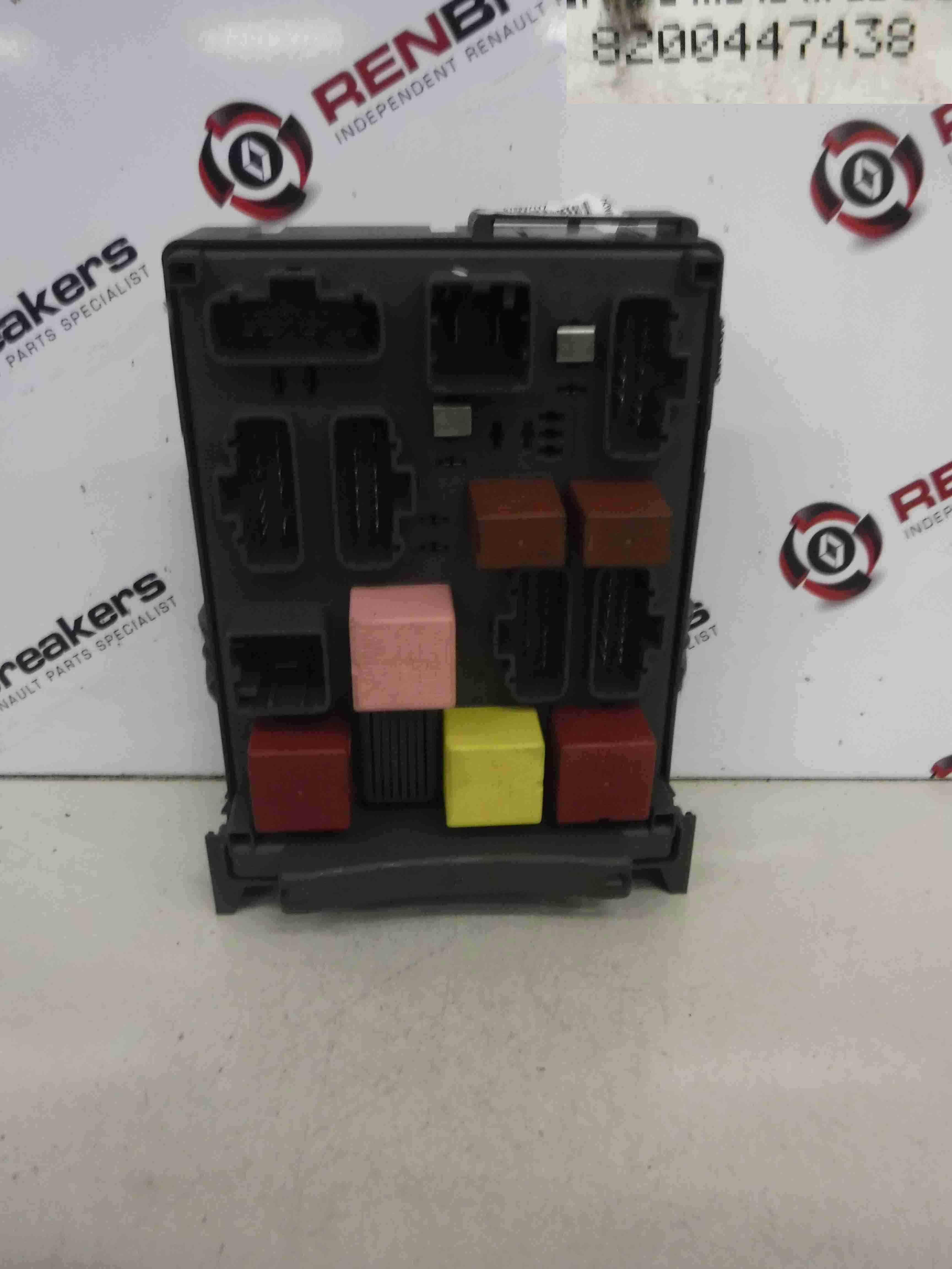 Renault Scenic 1 5 Dci Fuse Box
