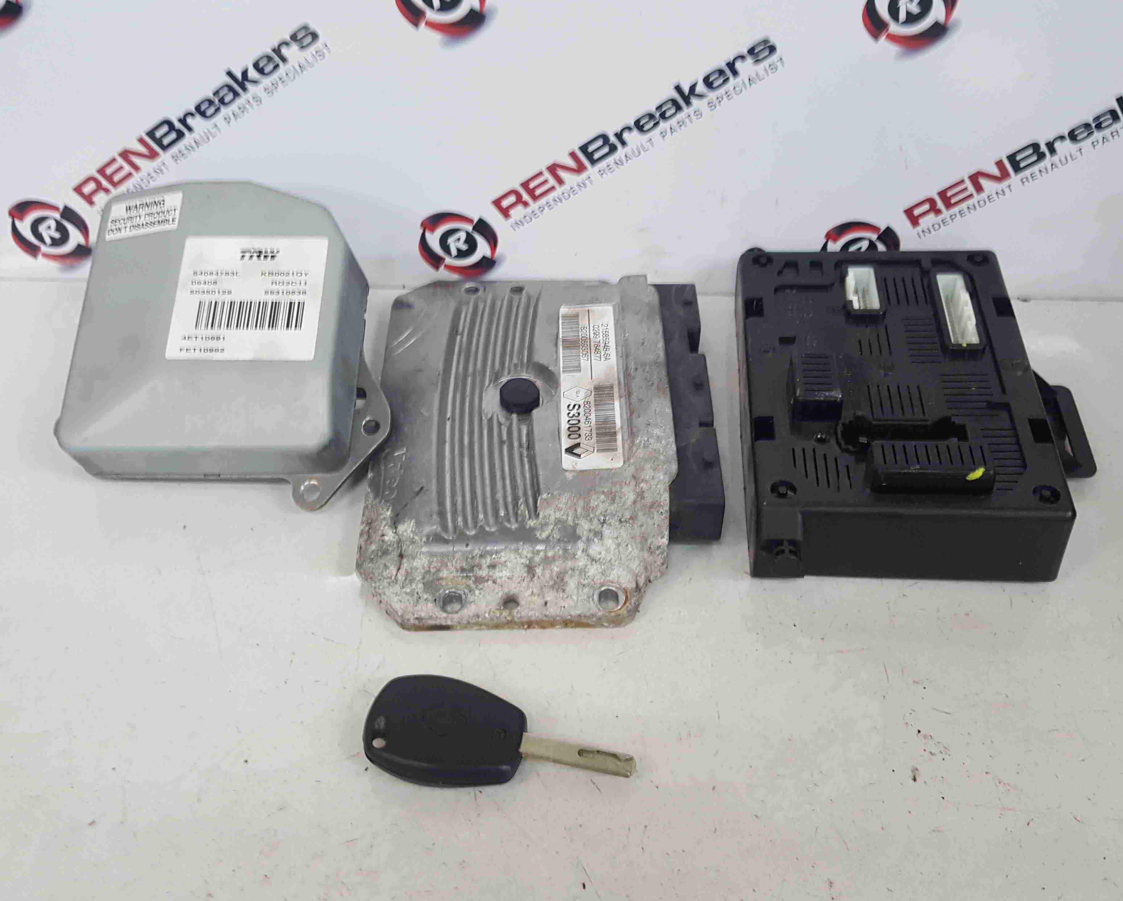 Renault Grand Modus 20082012  1.6 16v ECU SET UCH BCM Immobiliser  Key Fob Auto