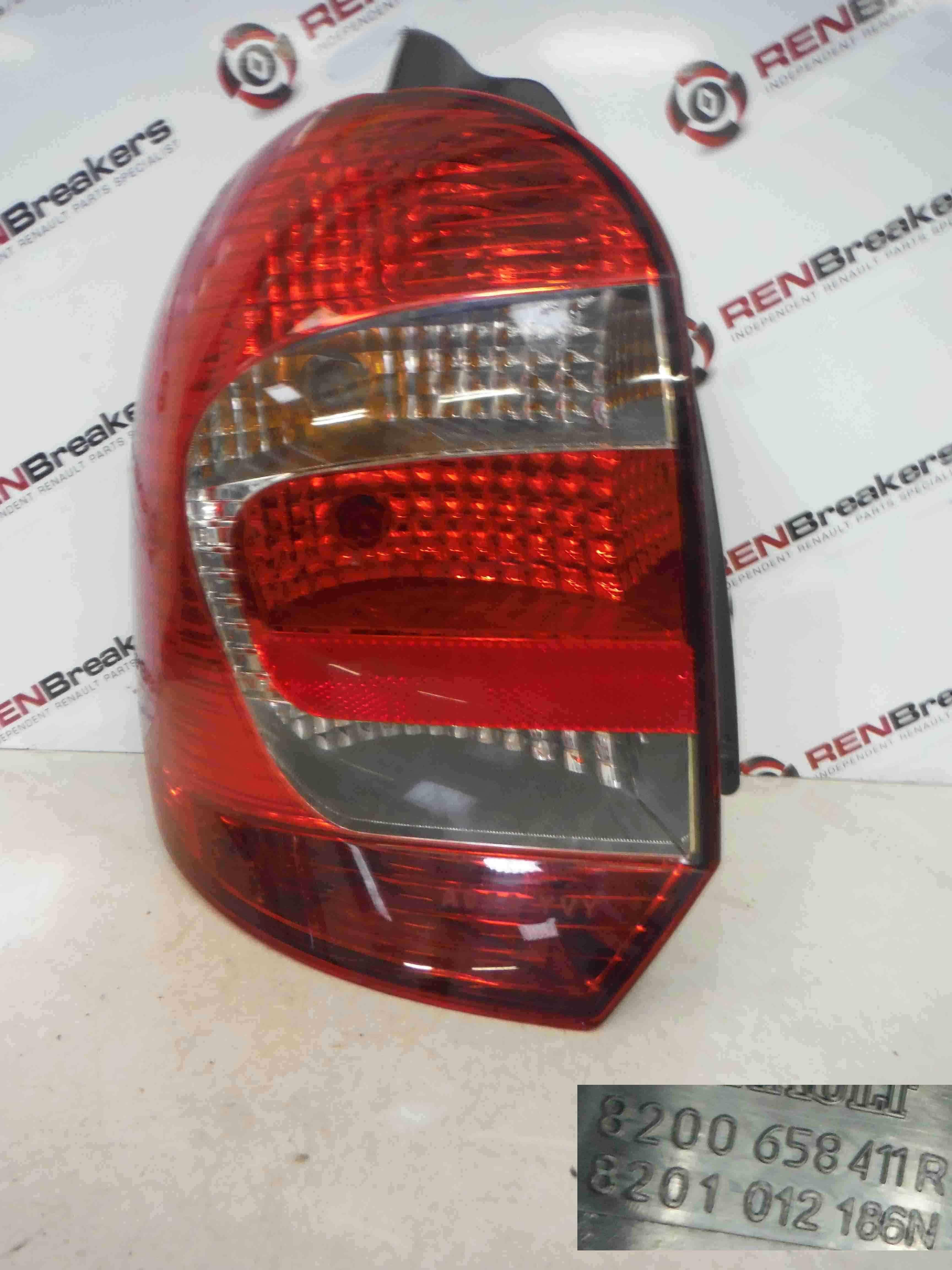 Renault Grand Modus 2008-2012 Passenger NSR Rear Light Lenz 8200658411
