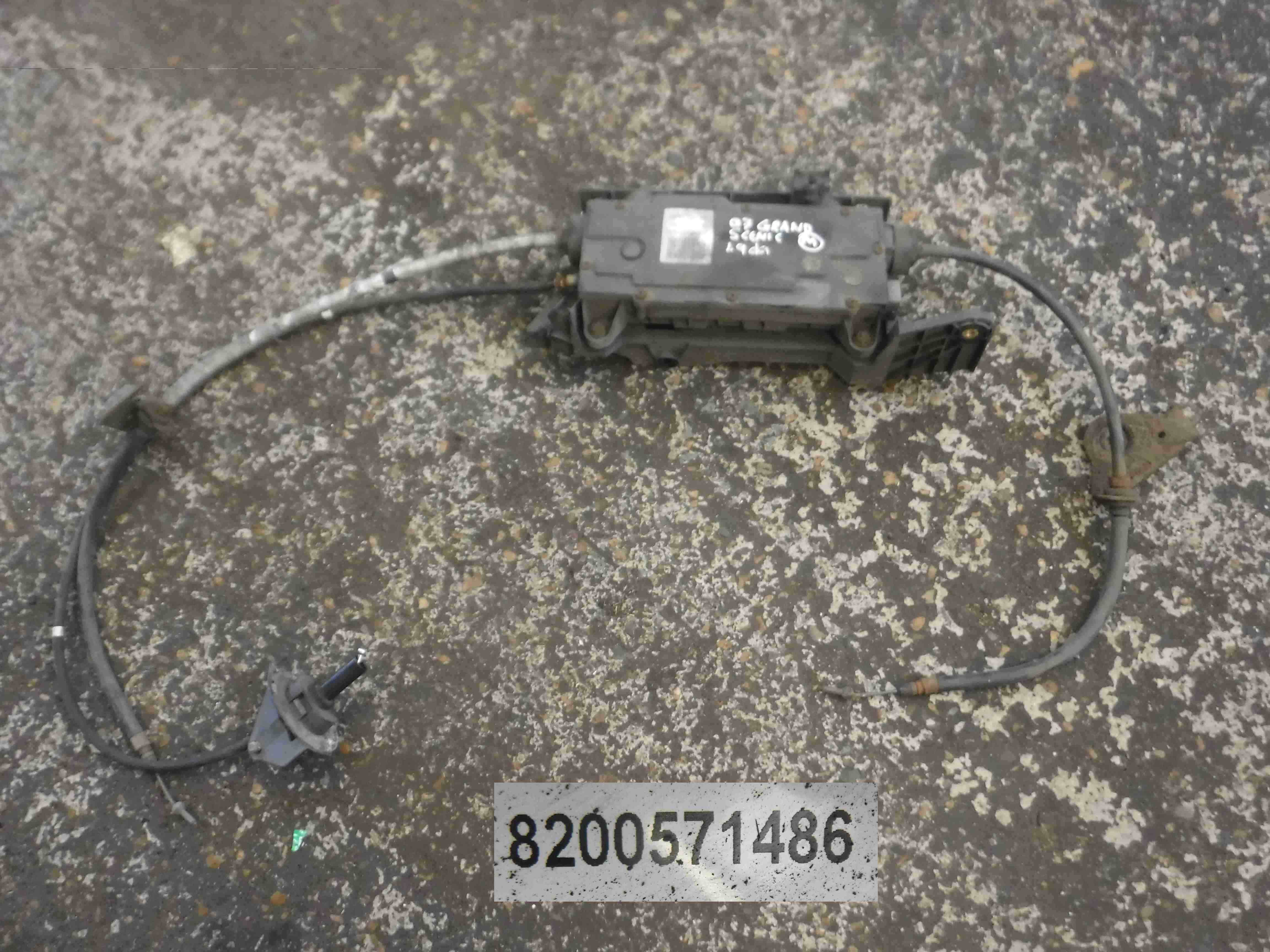 Renault Grand Scenic 2003-2009 Electronic Handbrake Motor  Cables 8200571486