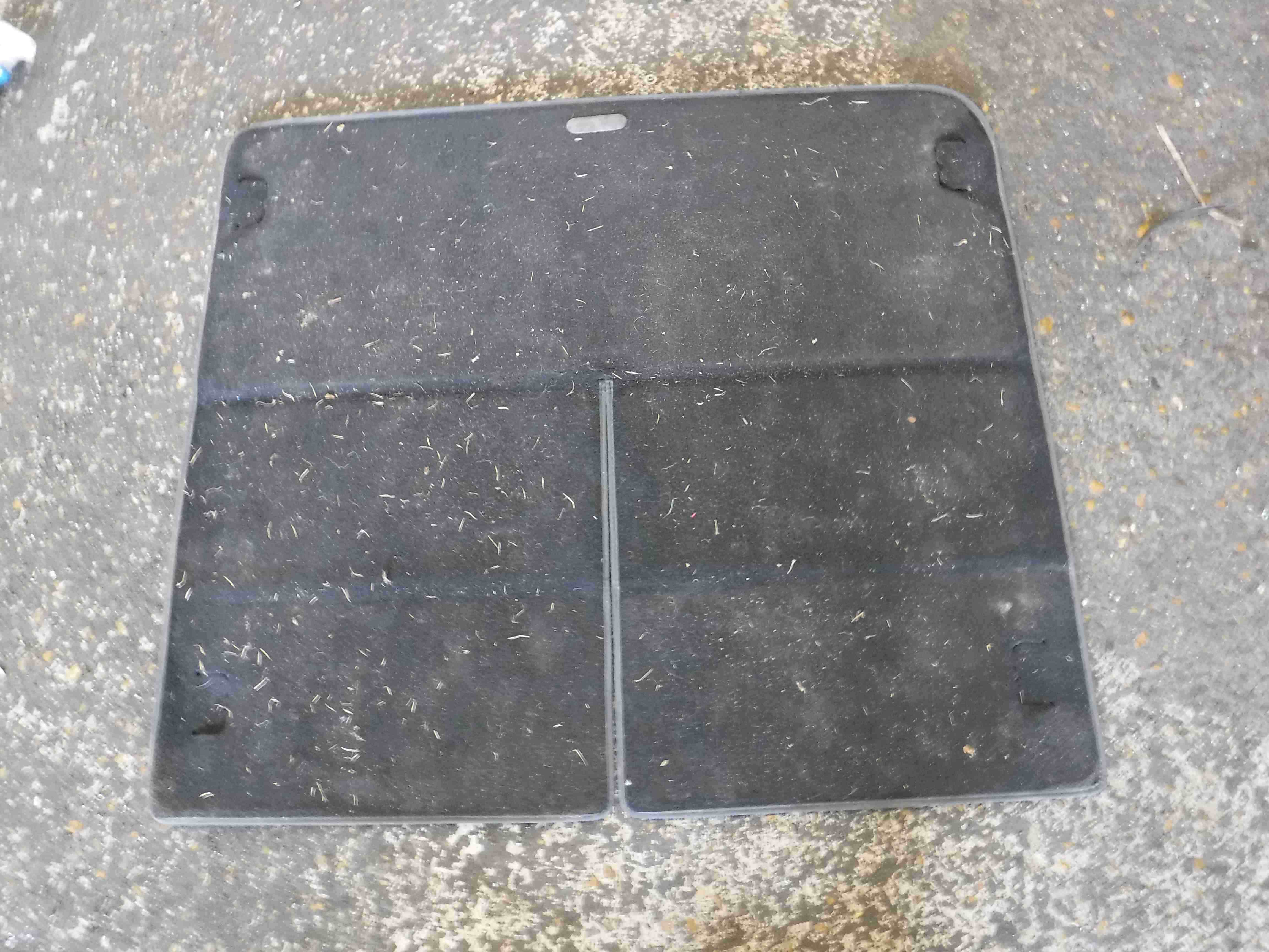 Renault Grand Scenic 2003-2009 Rear Tailgate Boot Carpet Floor Mat