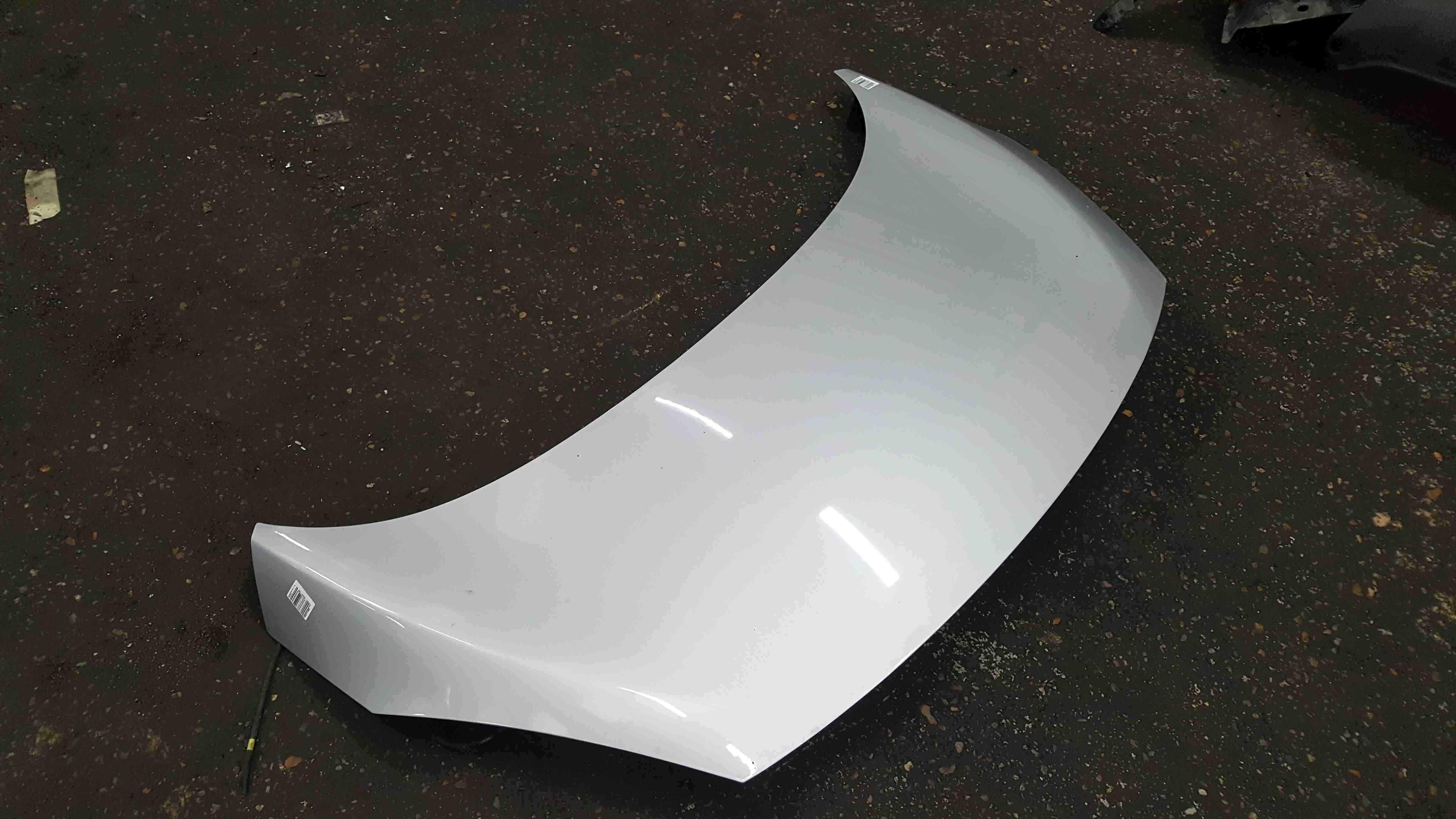Renault Grand Scenic MK3 2009-2013 Front Bonnet Silver TED69