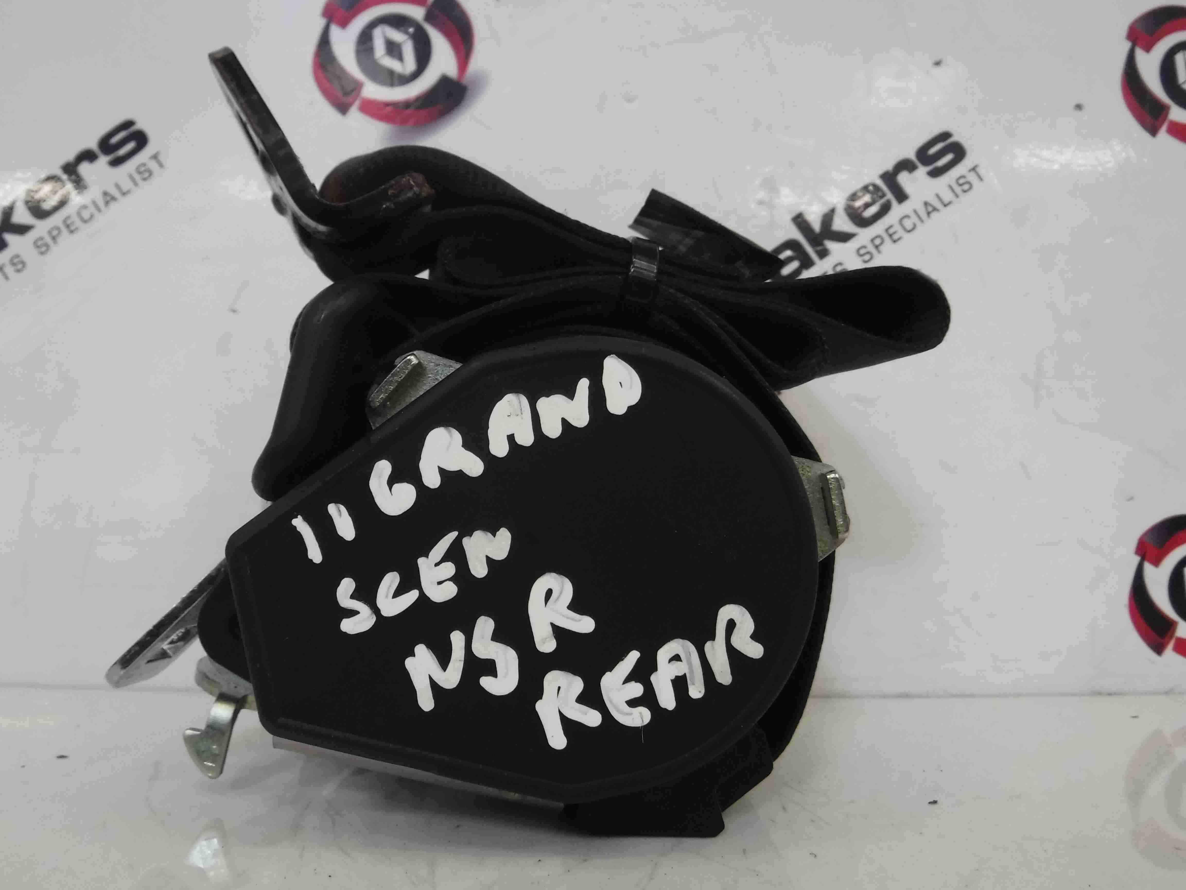 Renault Grand Scenic MK3 2009-2016 Passenger NSR Rear Boot Seat Belt 898410001R