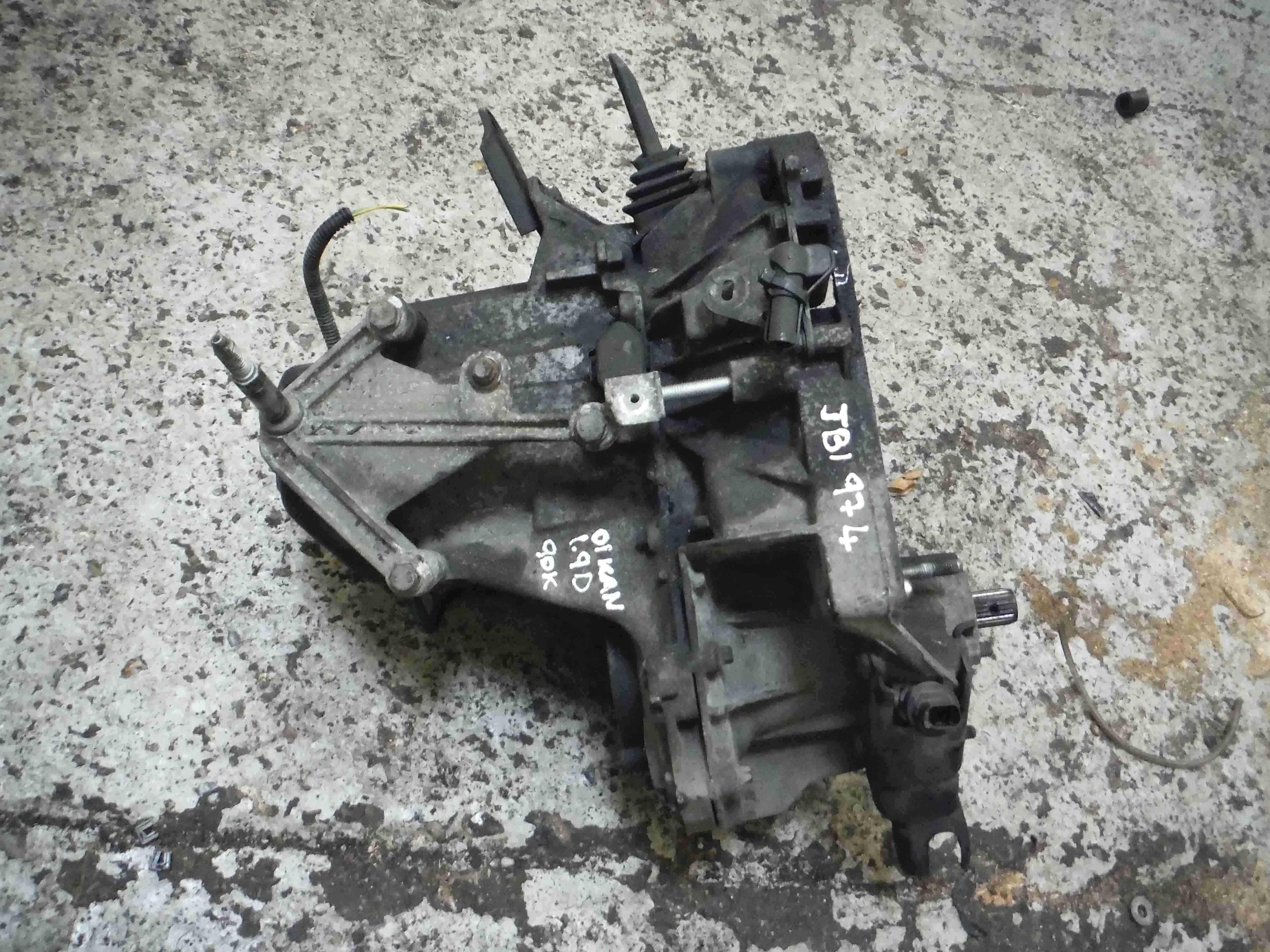 Renault Kangoo 2003-2007 1.9 Diesel Gearbox JB1 974 JB1974