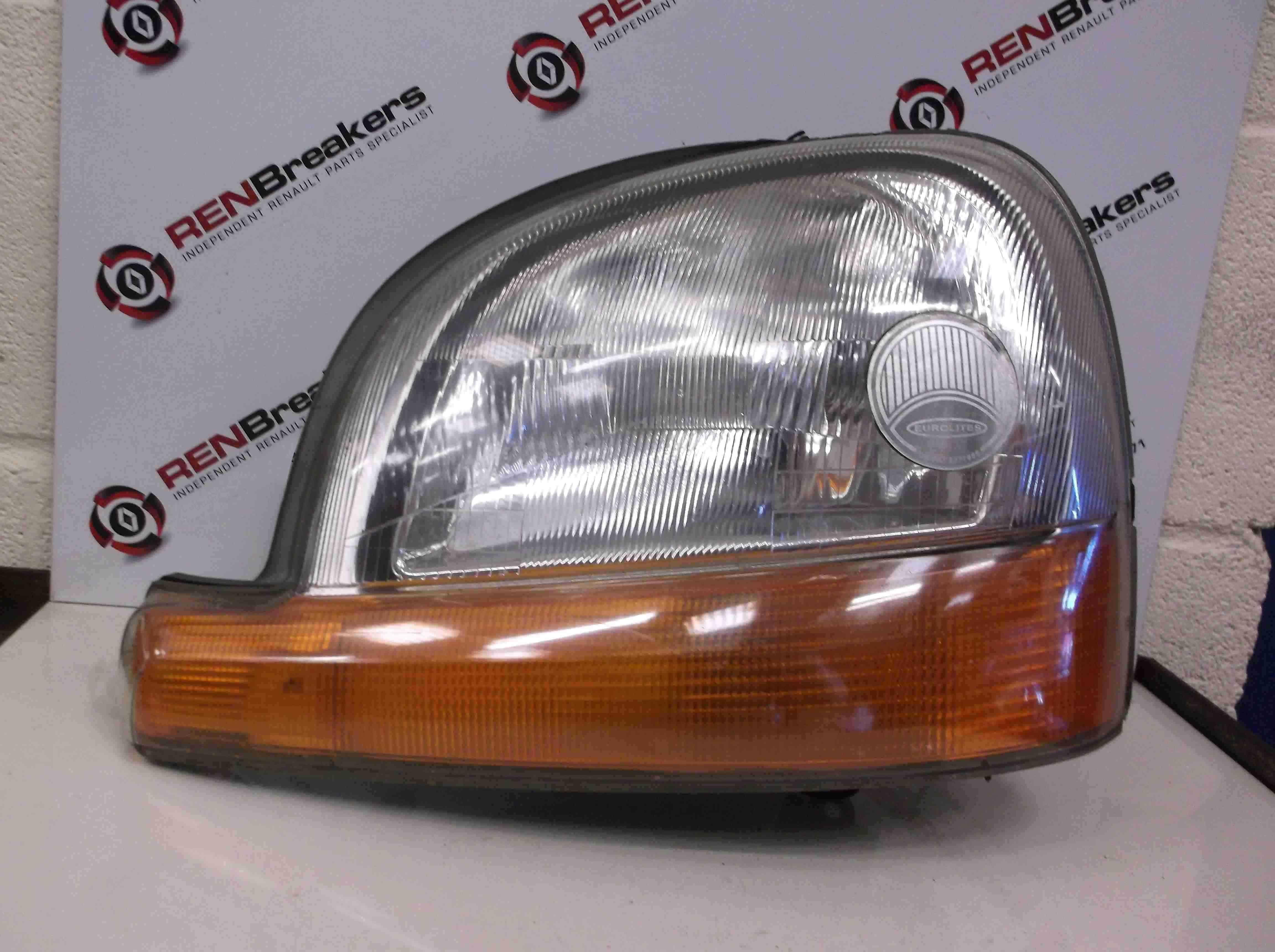 Renault Kangoo 1999-2007 Passenger NSF Front Headlight Head Lamp 7700308026