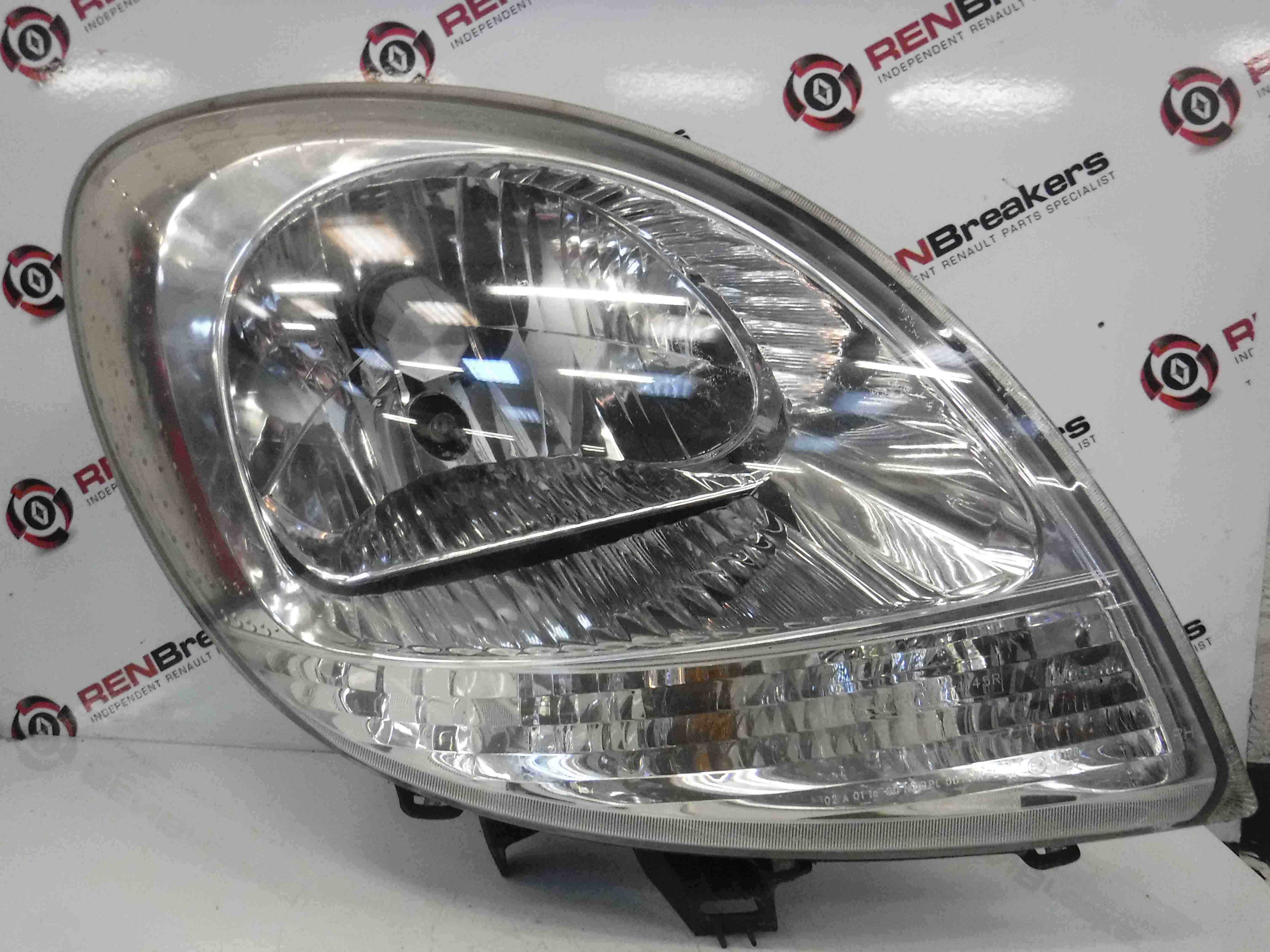 Renault Kangoo 2003-2007 Drivers OSF Front Headlight Clear Indicator 8200589035