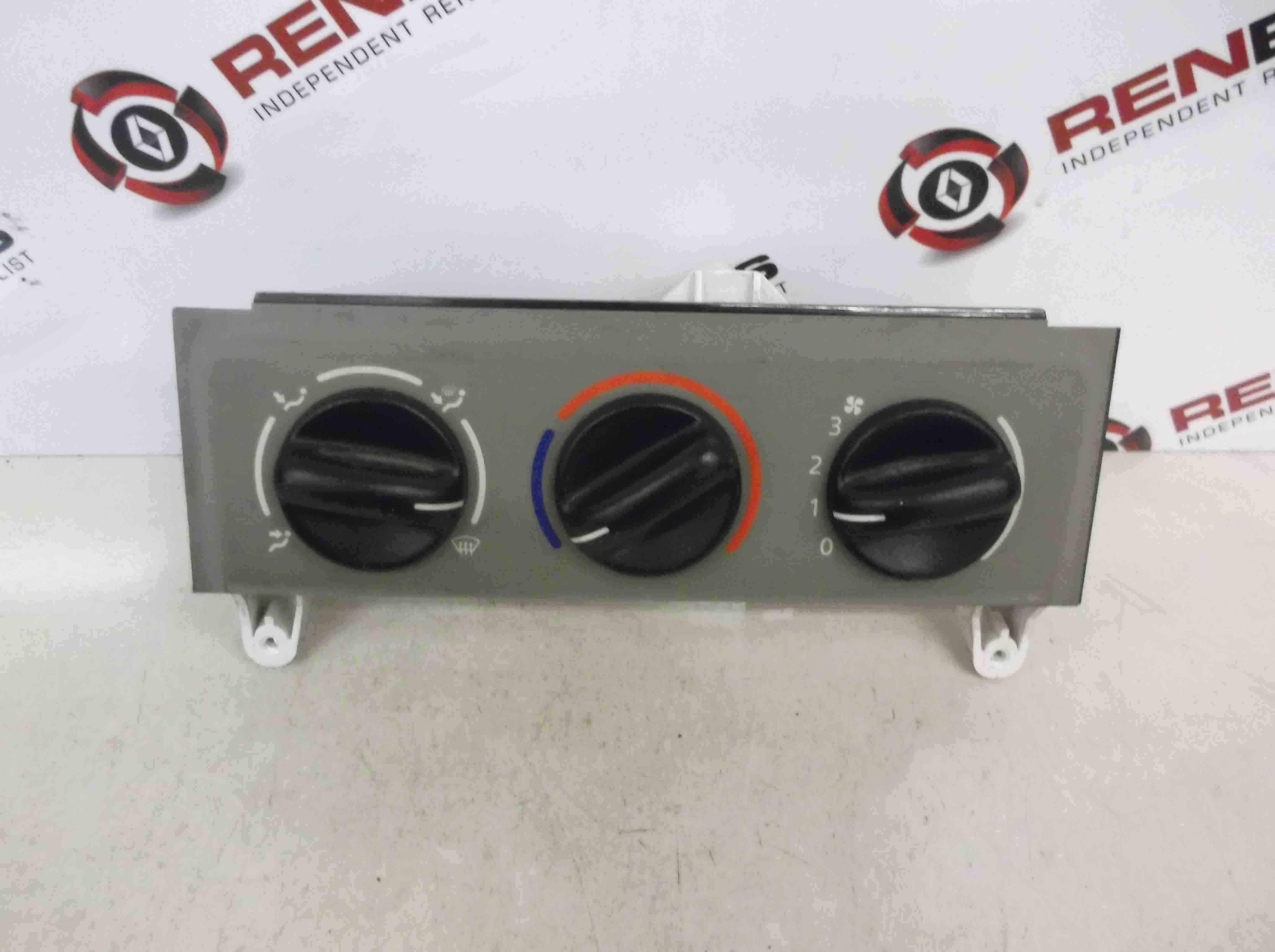 Renault Kangoo 2003-2007 Heater Controls Buttons Switch 12233