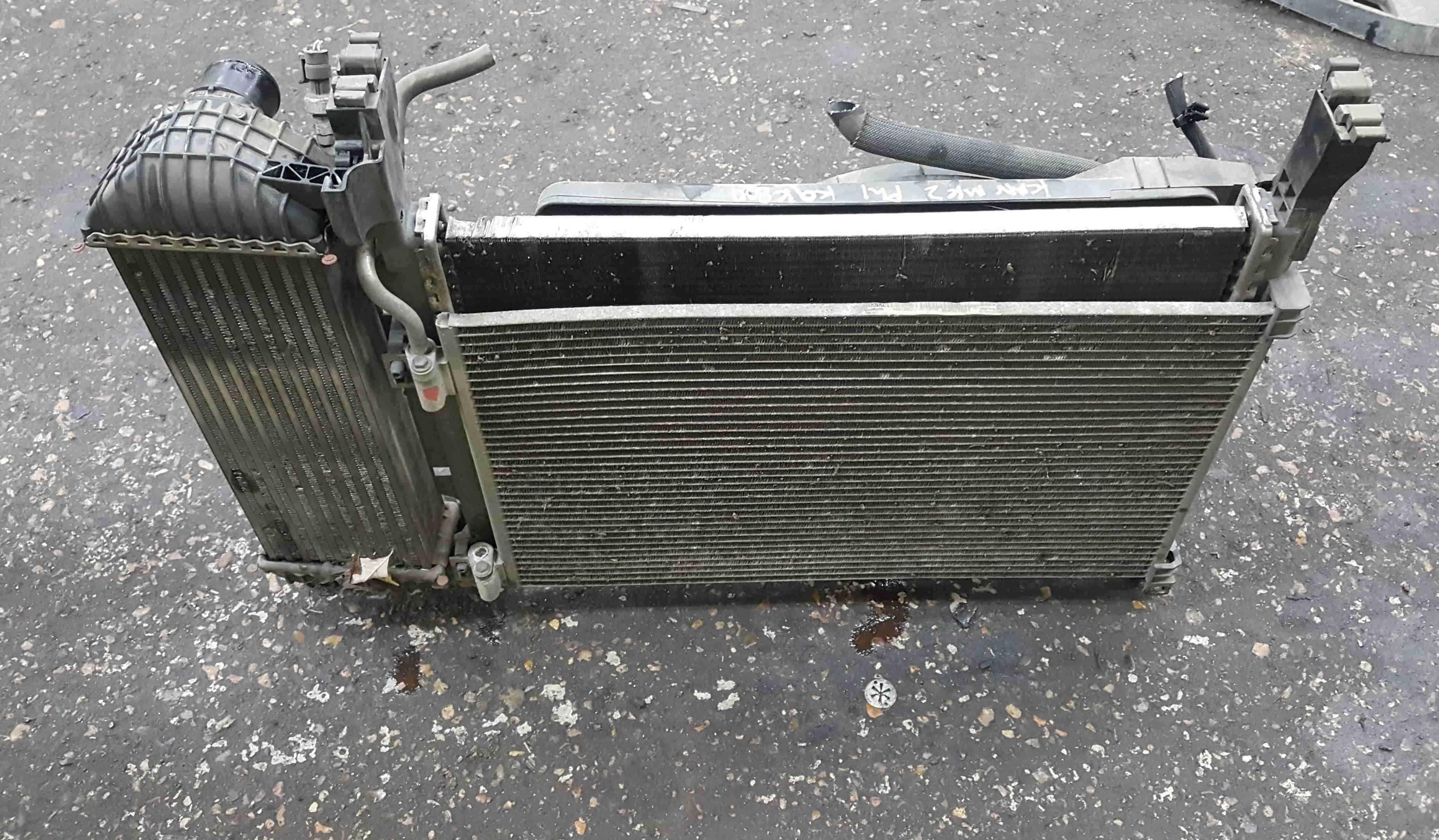 Renault Kangoo 2007-2013 1.5 DCi Radiator Rad Pack Cooling Fan K9K 800