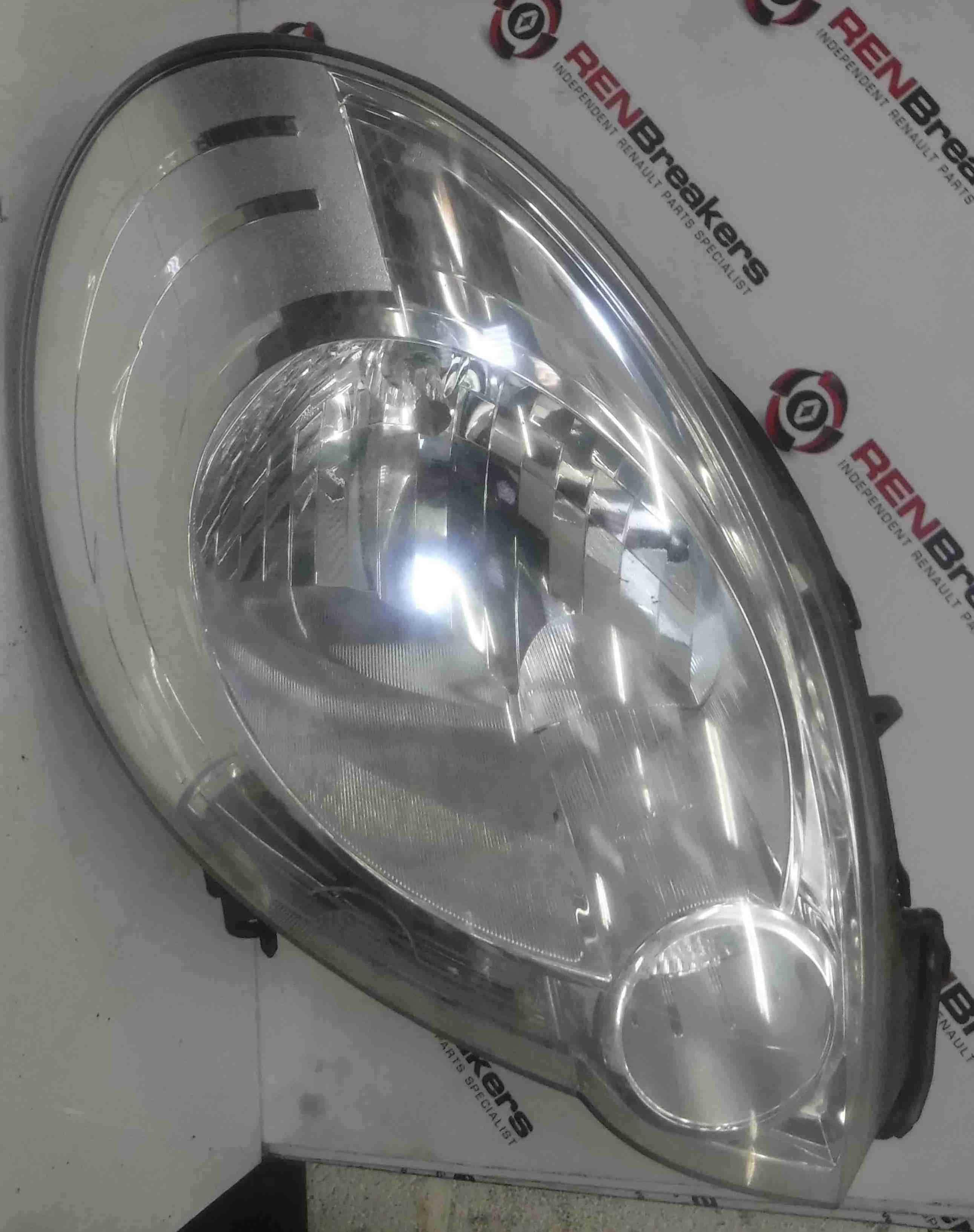Renault Kangoo 2007-2013 Drivers OSF Front Headlight 8200419910
